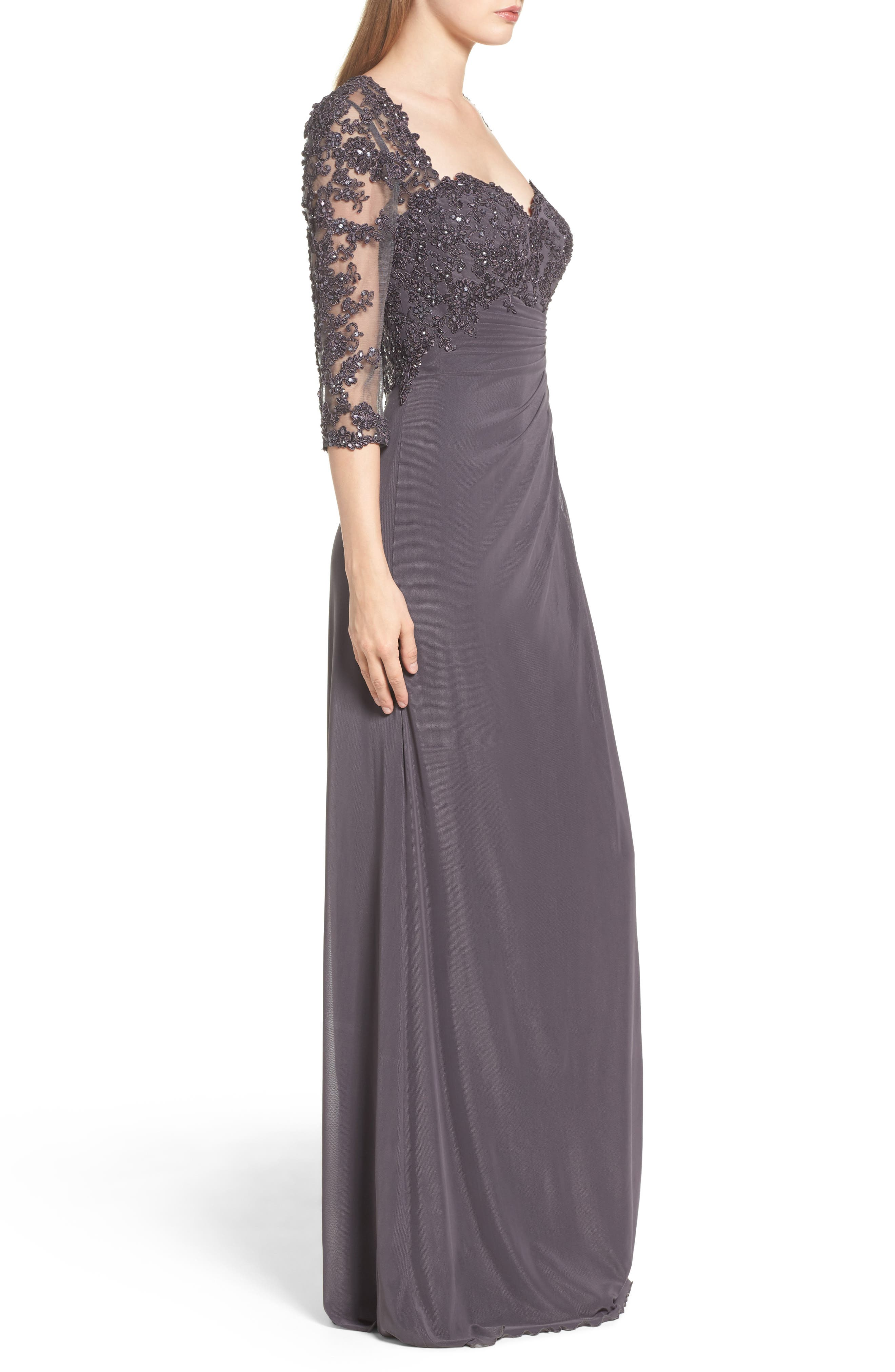 Embellished Gown,                             Alternate thumbnail 3, color,                             031