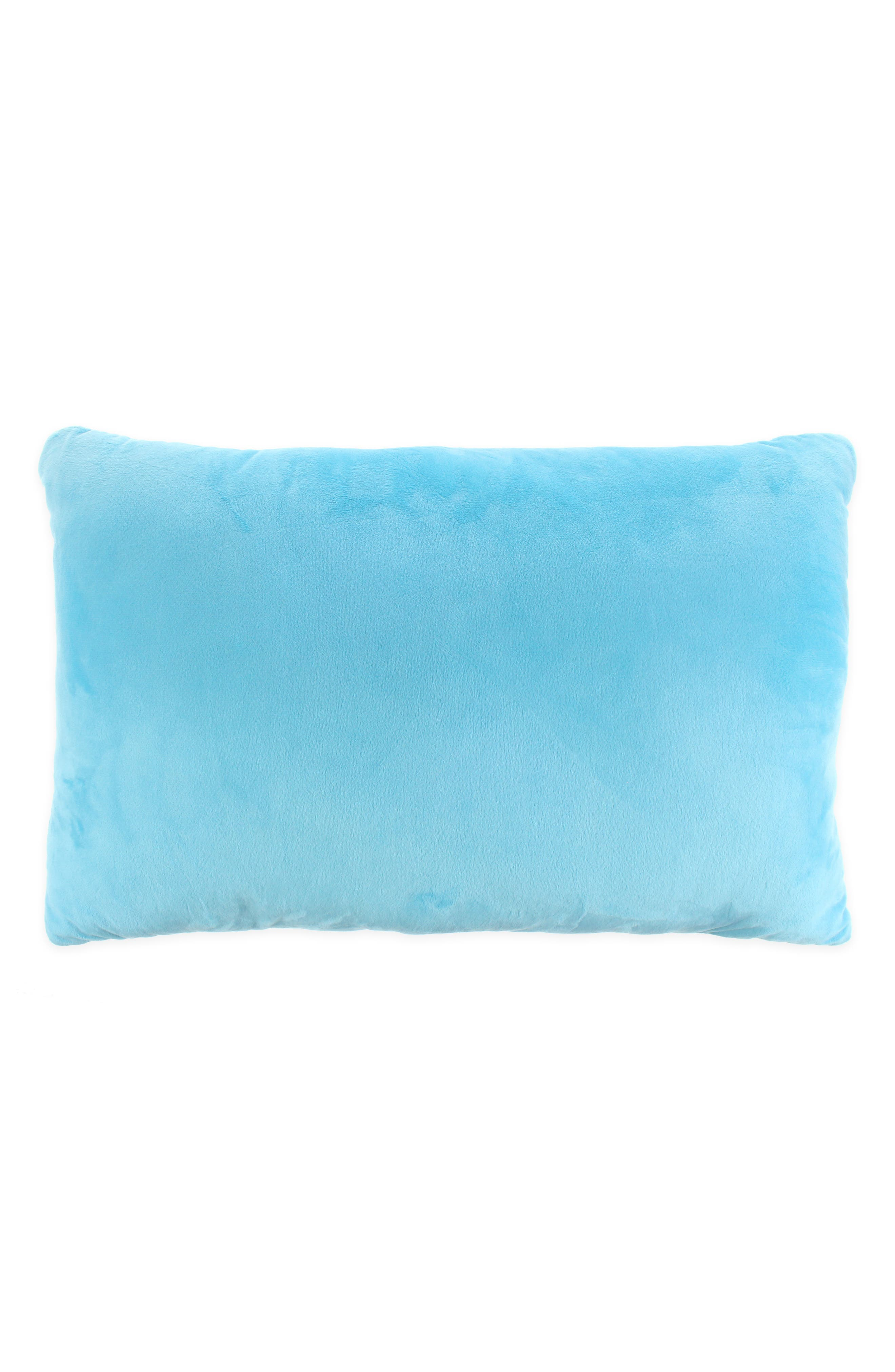 Narwhal Throw Pillow,                             Alternate thumbnail 2, color,                             BLUE COMBO