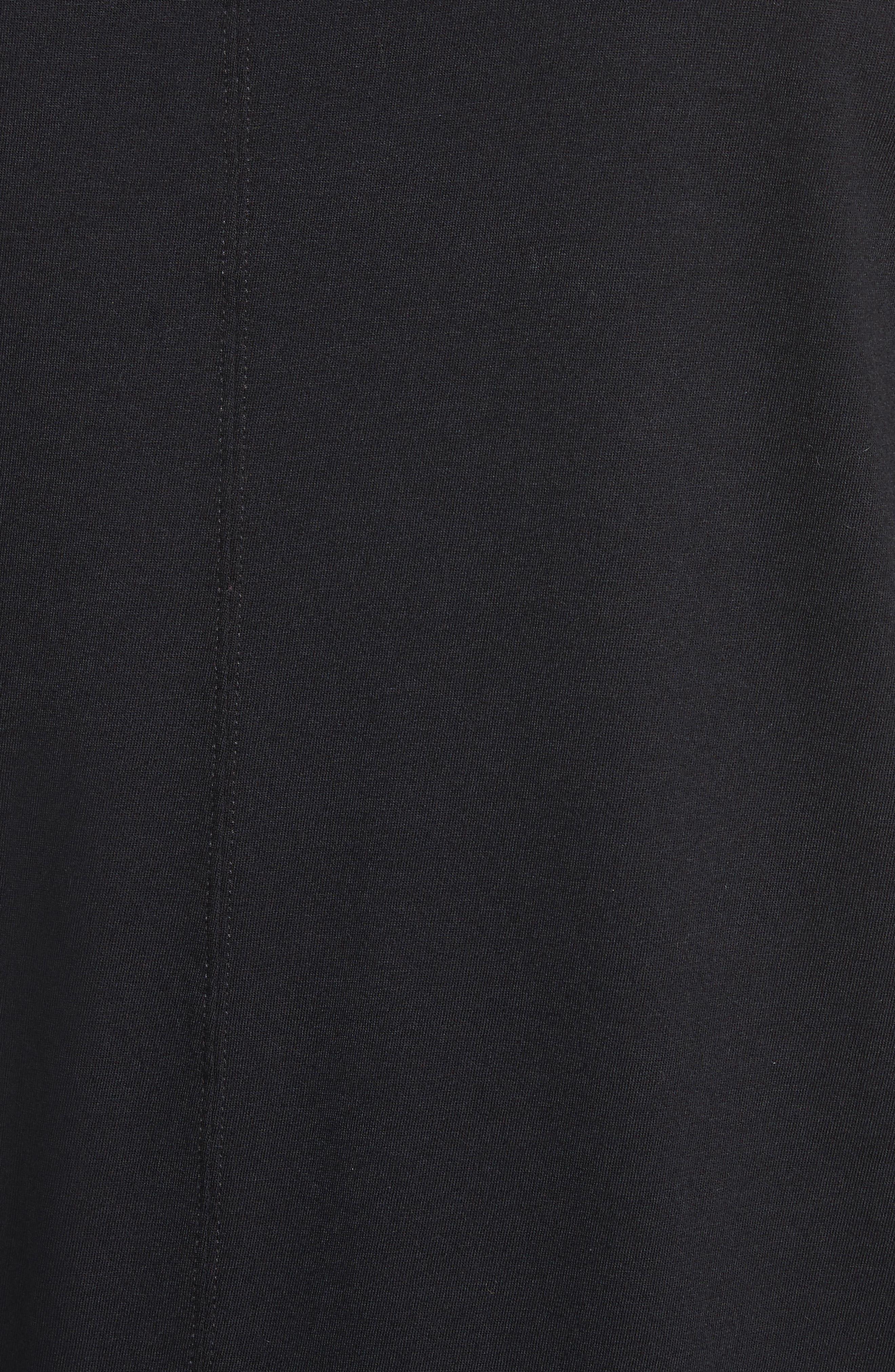Elongated T-Shirt,                             Alternate thumbnail 5, color,                             009
