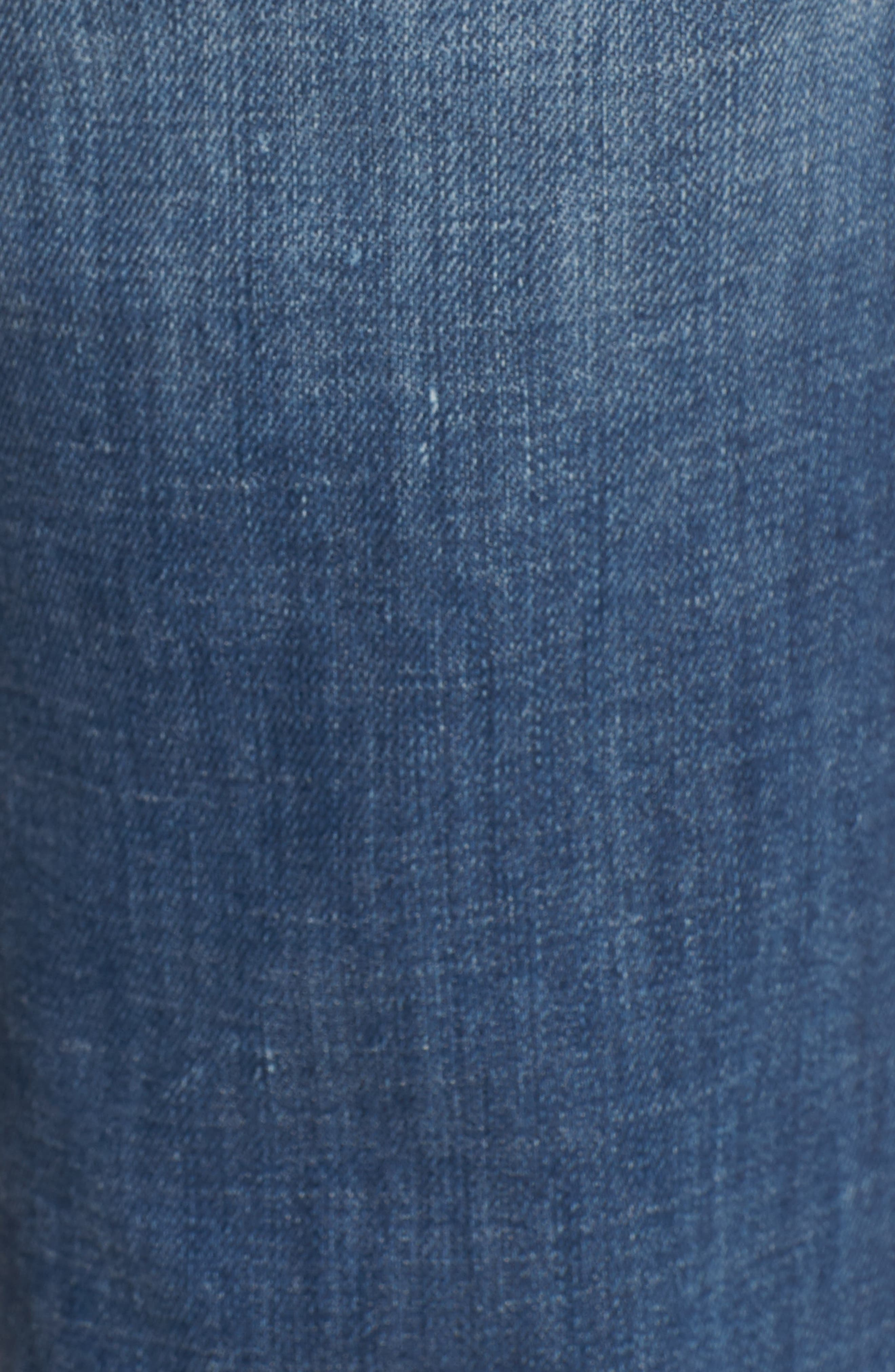 Jennie Runaway Legging Jeans,                             Alternate thumbnail 6, color,                             401
