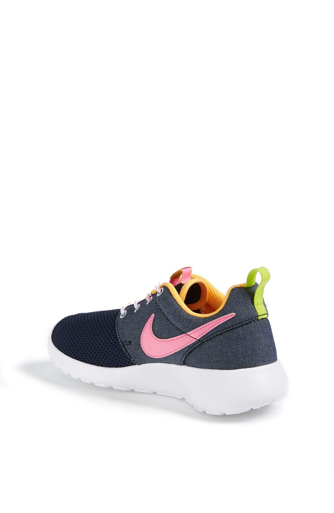 'Roshe Run' Athletic Shoe,                             Alternate thumbnail 128, color,