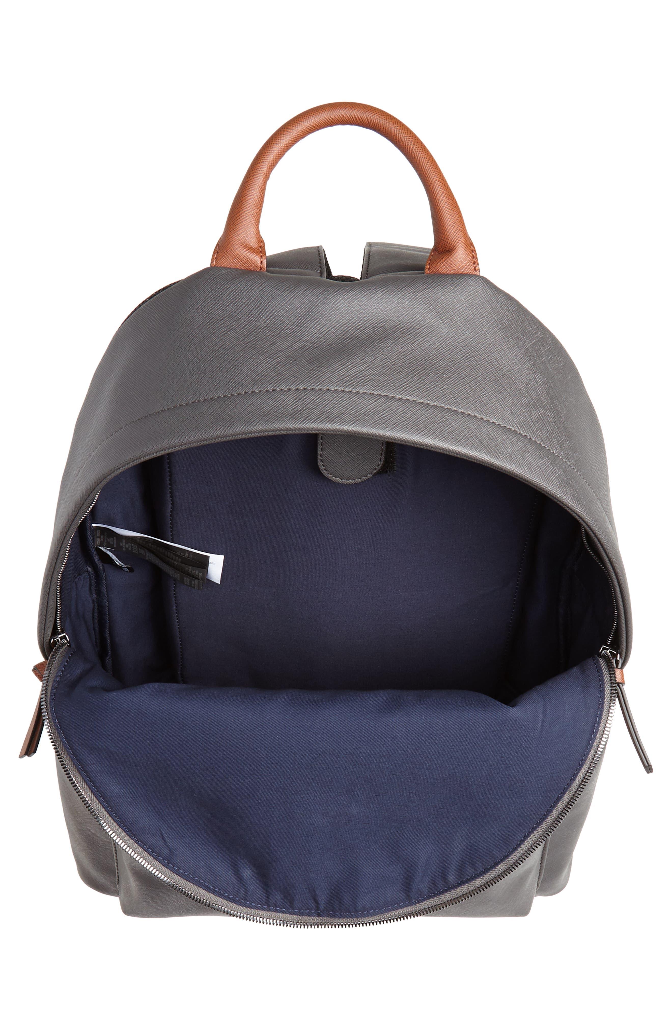 Crossgrain Backpack,                             Alternate thumbnail 4, color,                             CHARCOAL