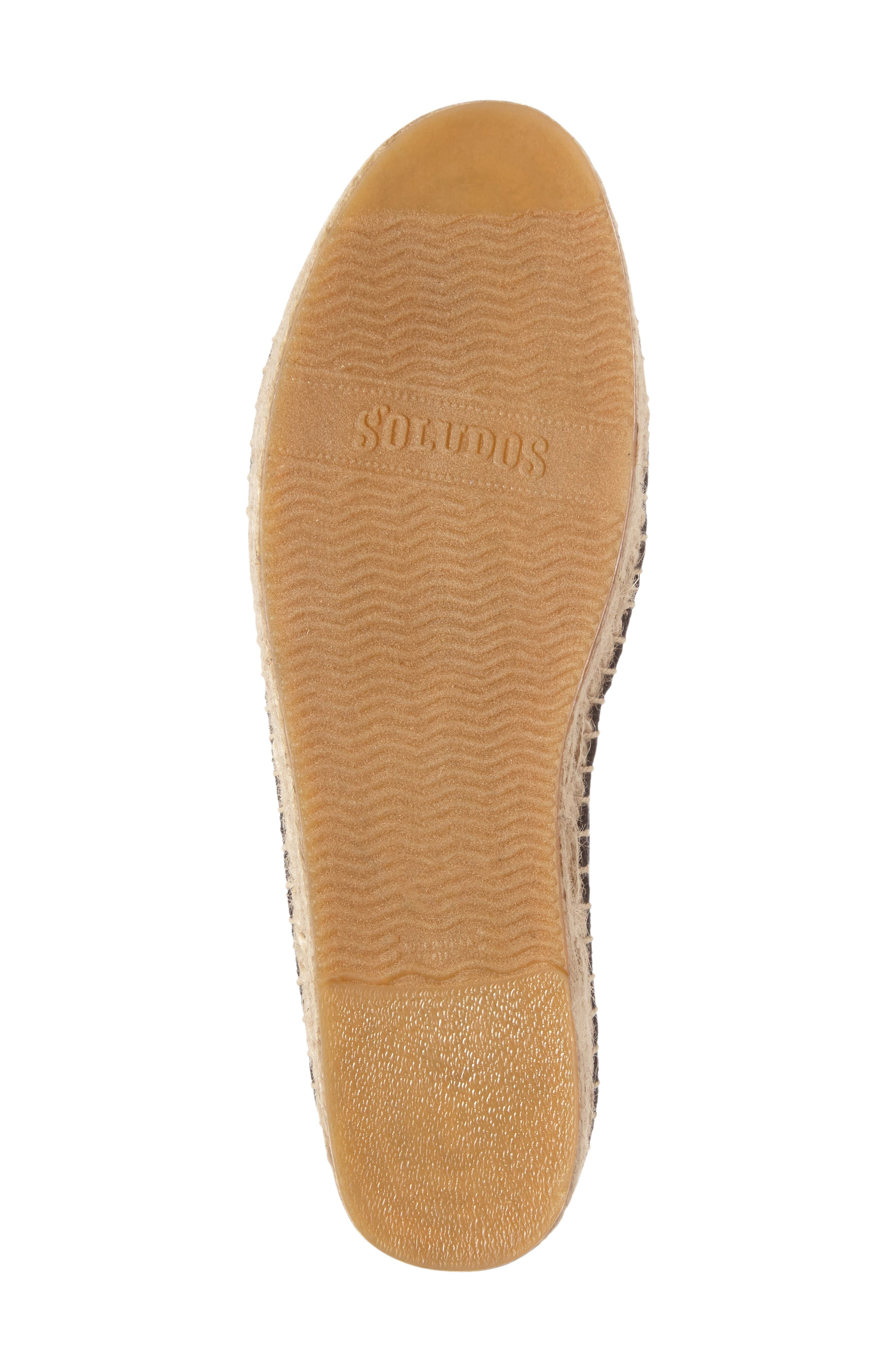 Frenchie Espadrille Loafer,                             Alternate thumbnail 4, color,                             006