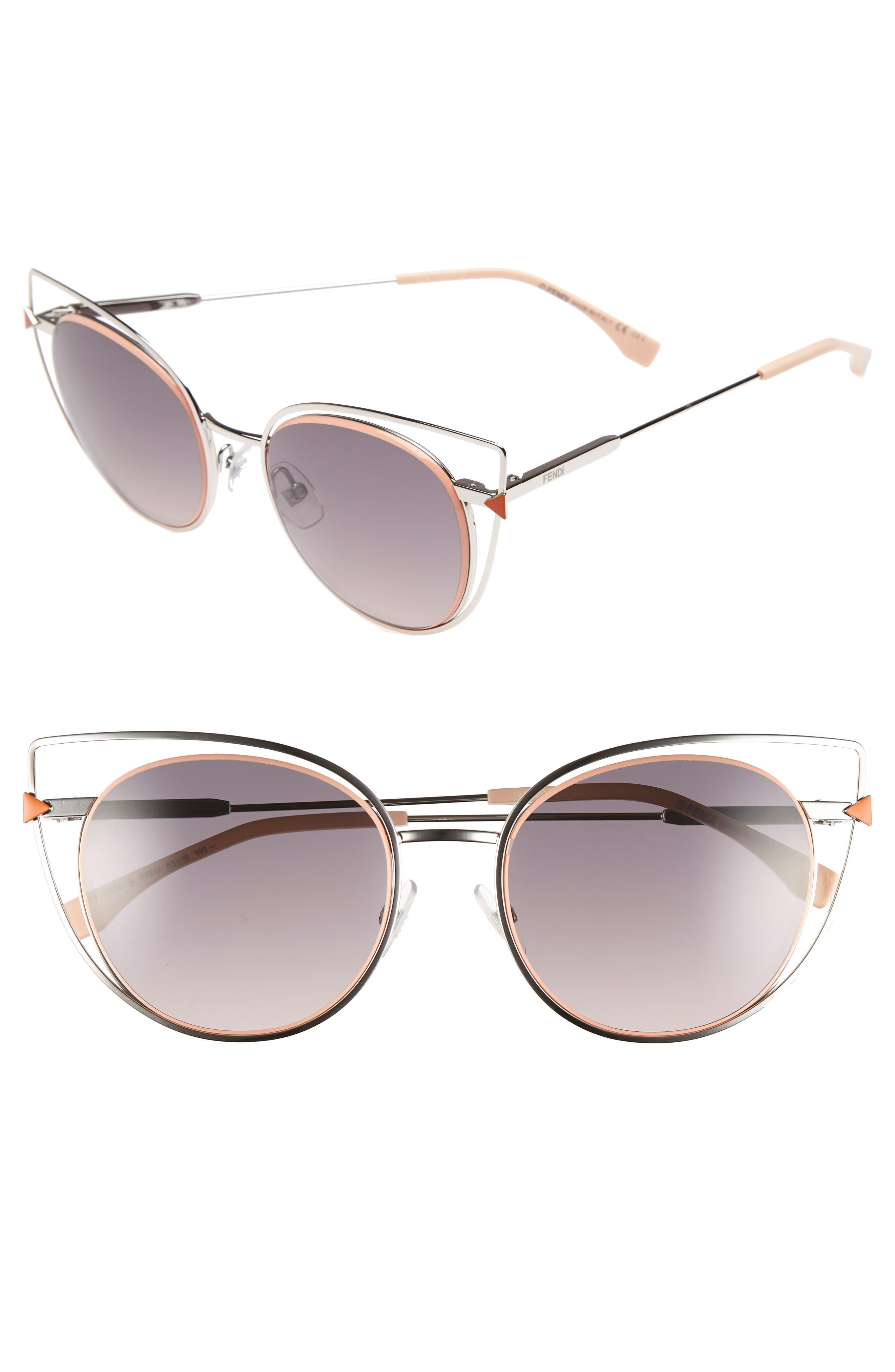 53mm Sunglasses,                             Alternate thumbnail 6, color,