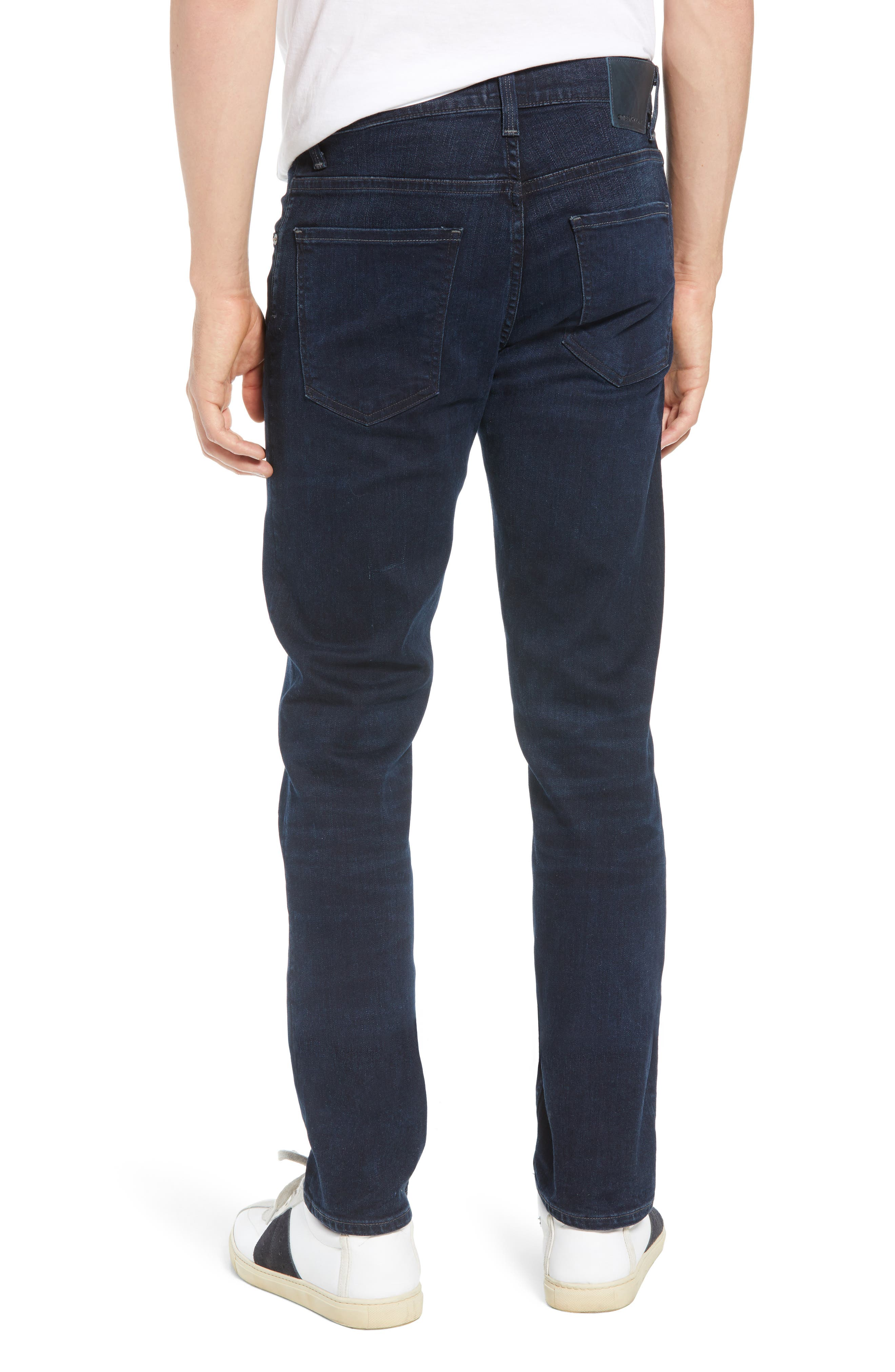 Bowery Slim Fit Jeans,                             Alternate thumbnail 2, color,                             407