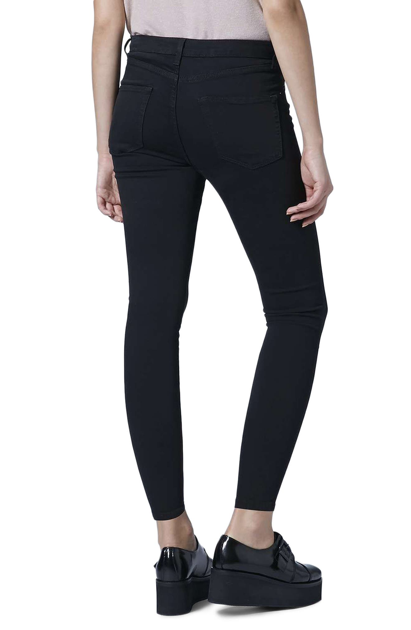 Jamie Ankle Skinny Jeans,                             Alternate thumbnail 2, color,                             001