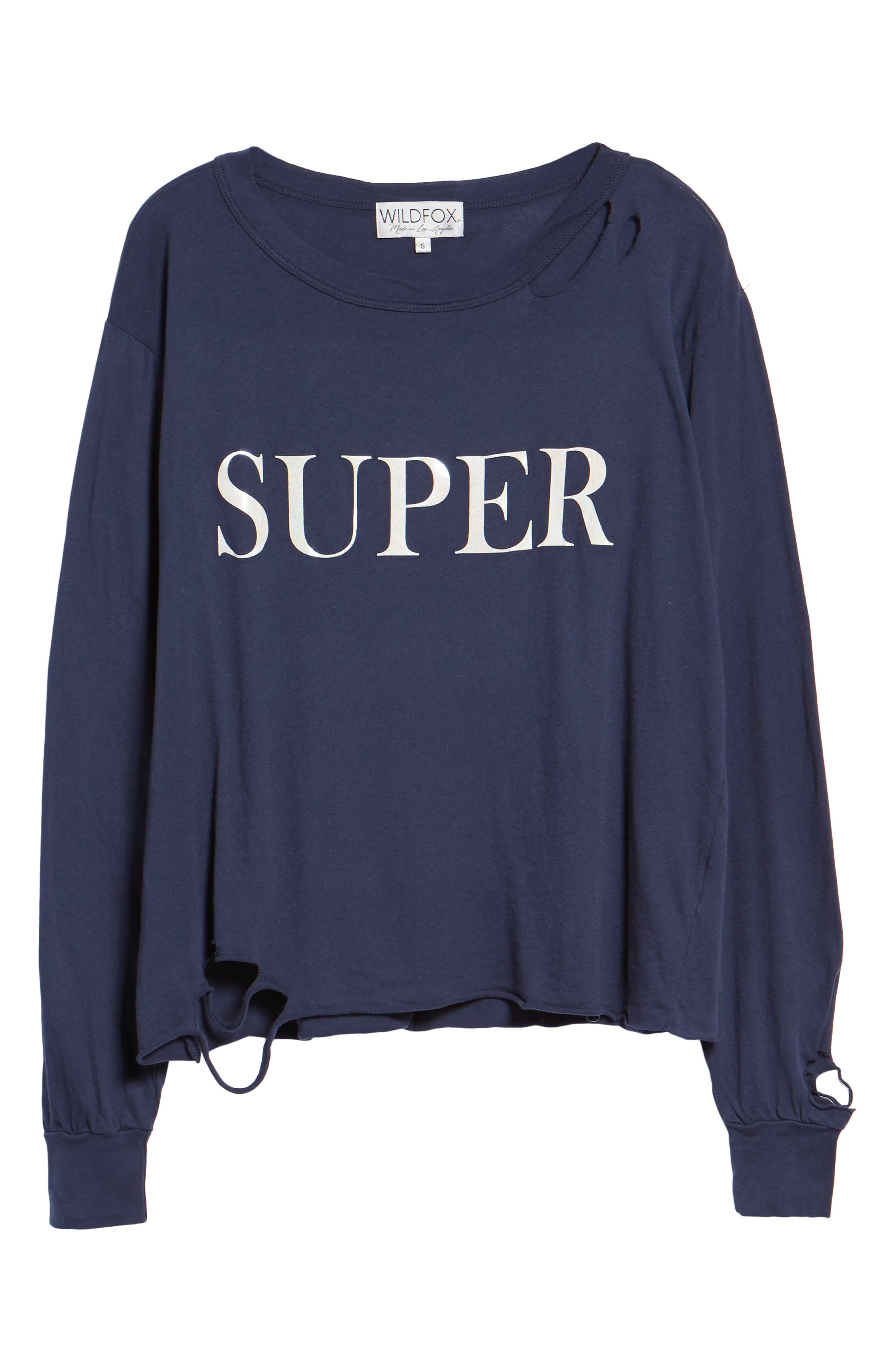 Stellar - Super Ripped Graphic Tee,                             Alternate thumbnail 6, color,                             OXFORD