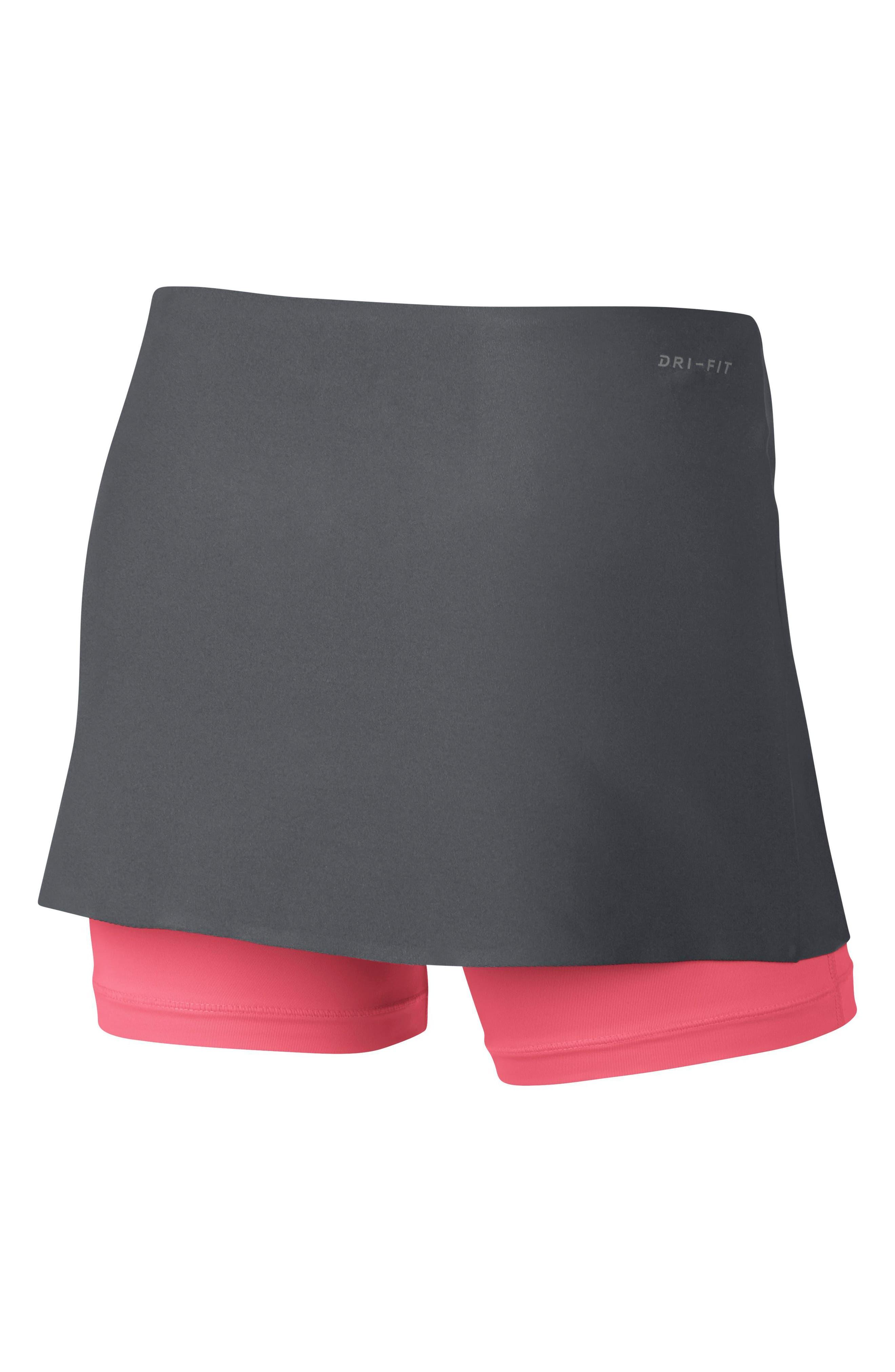 Power Tennis Skirt,                             Alternate thumbnail 5, color,