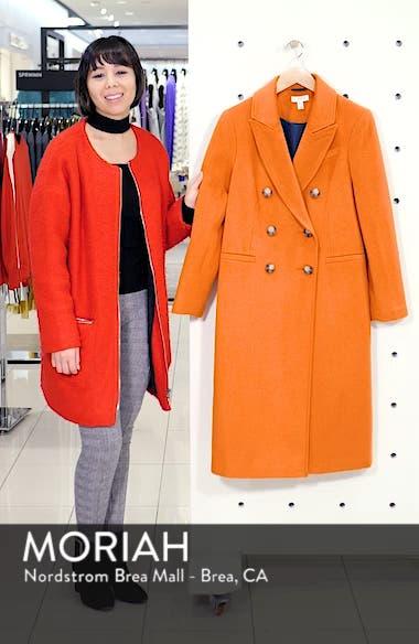 Brushed Long Coat, sales video thumbnail