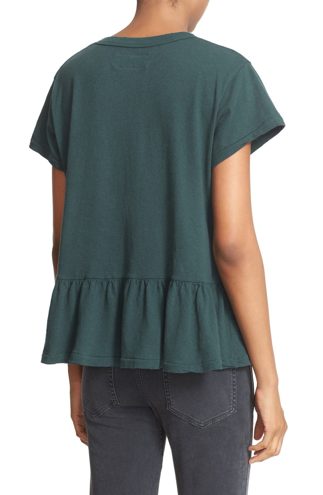 The Ruffle Tee,                             Alternate thumbnail 28, color,