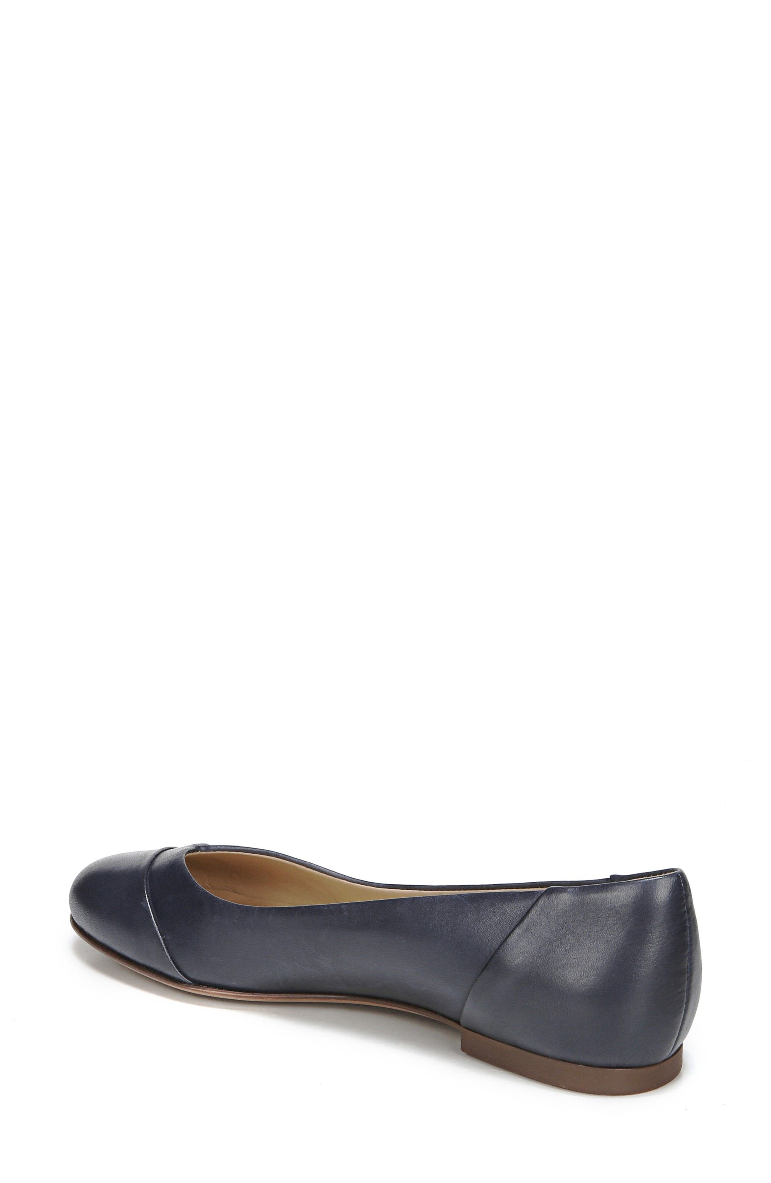 Gilly Flat,                             Alternate thumbnail 2, color,                             NAVY LEATHER