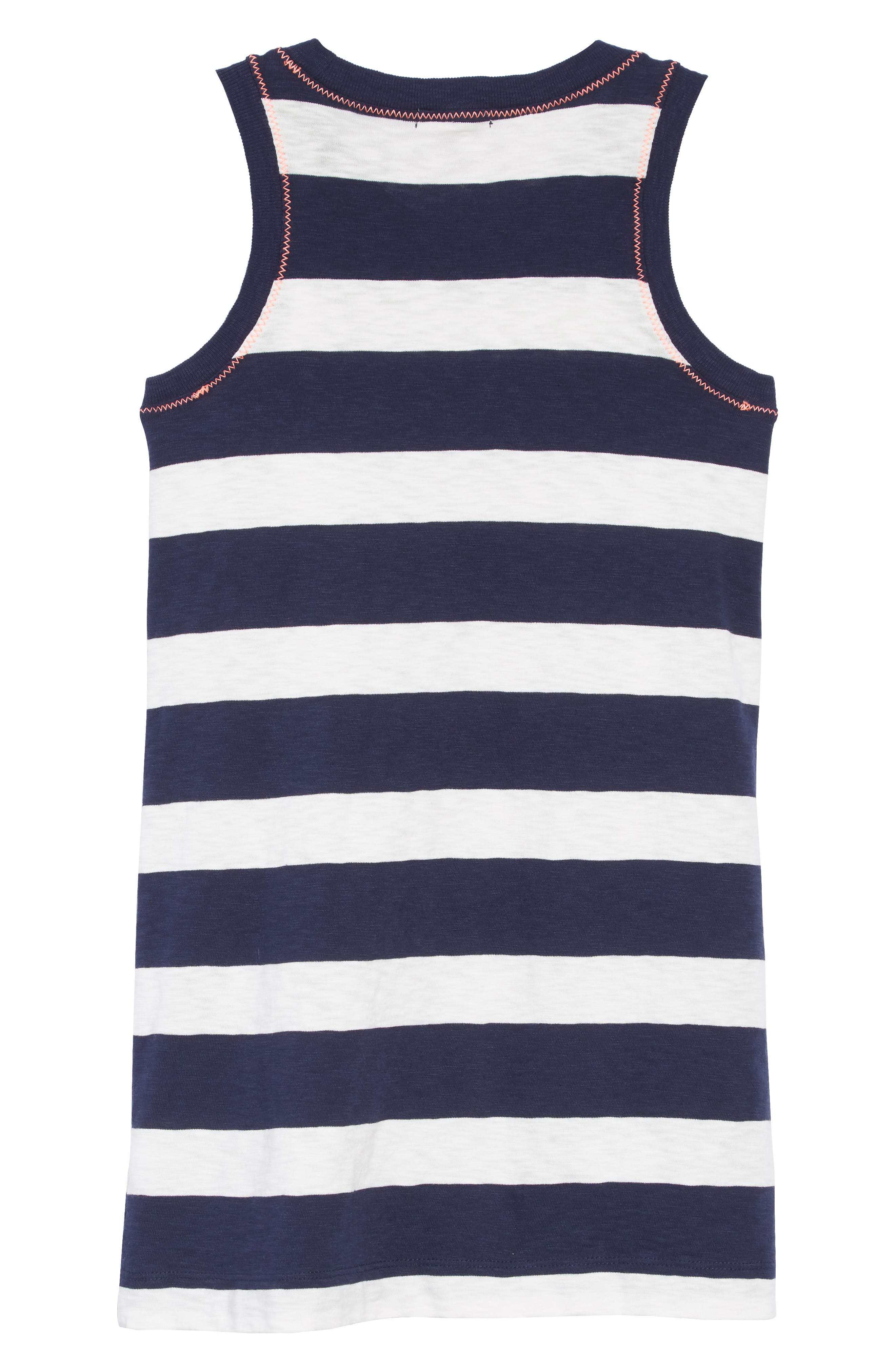 Rugby Stripe Dress,                             Alternate thumbnail 2, color,                             400