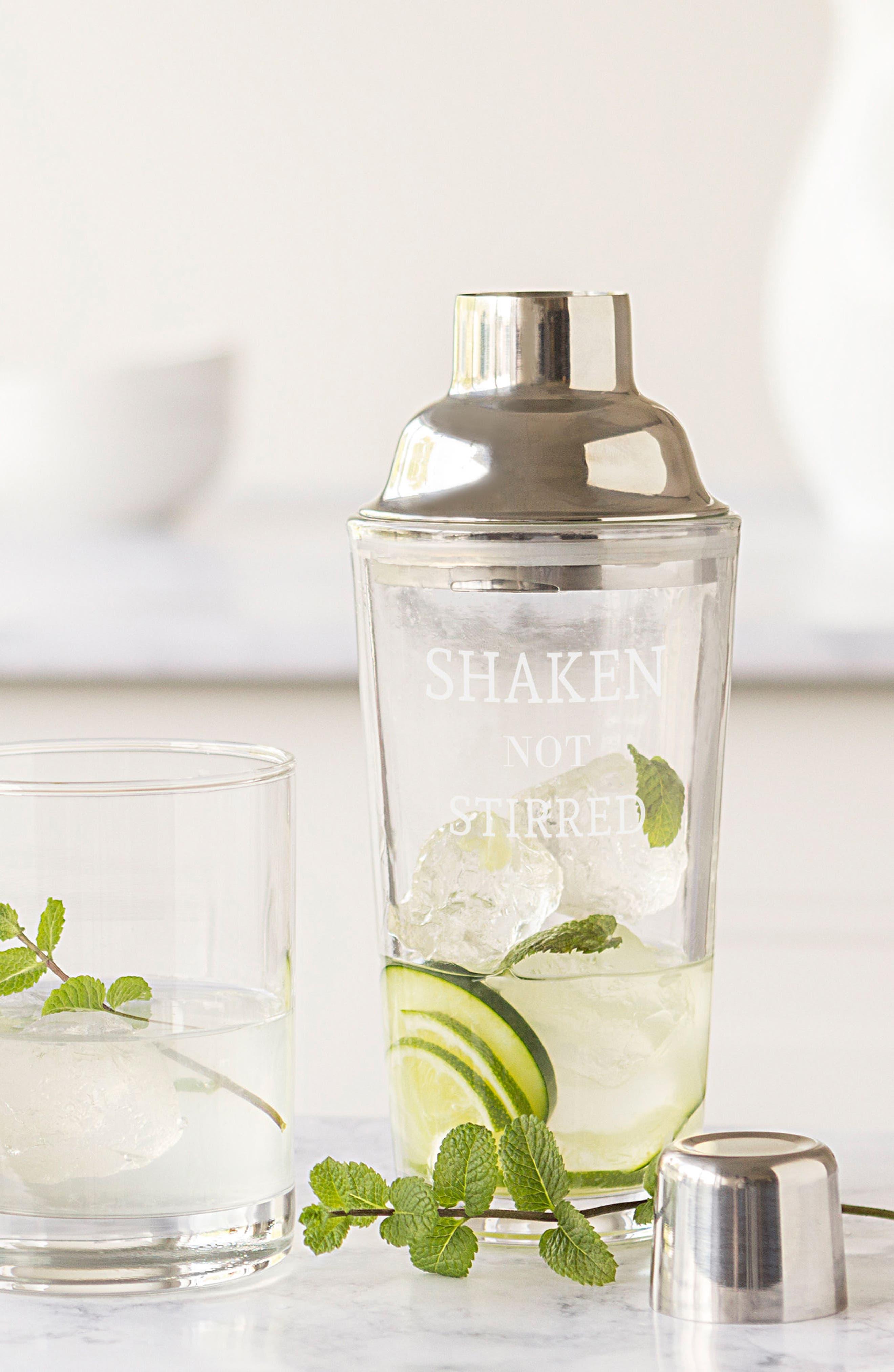 Shaken Not Stirred Cocktail Shaker,                             Alternate thumbnail 5, color,                             040