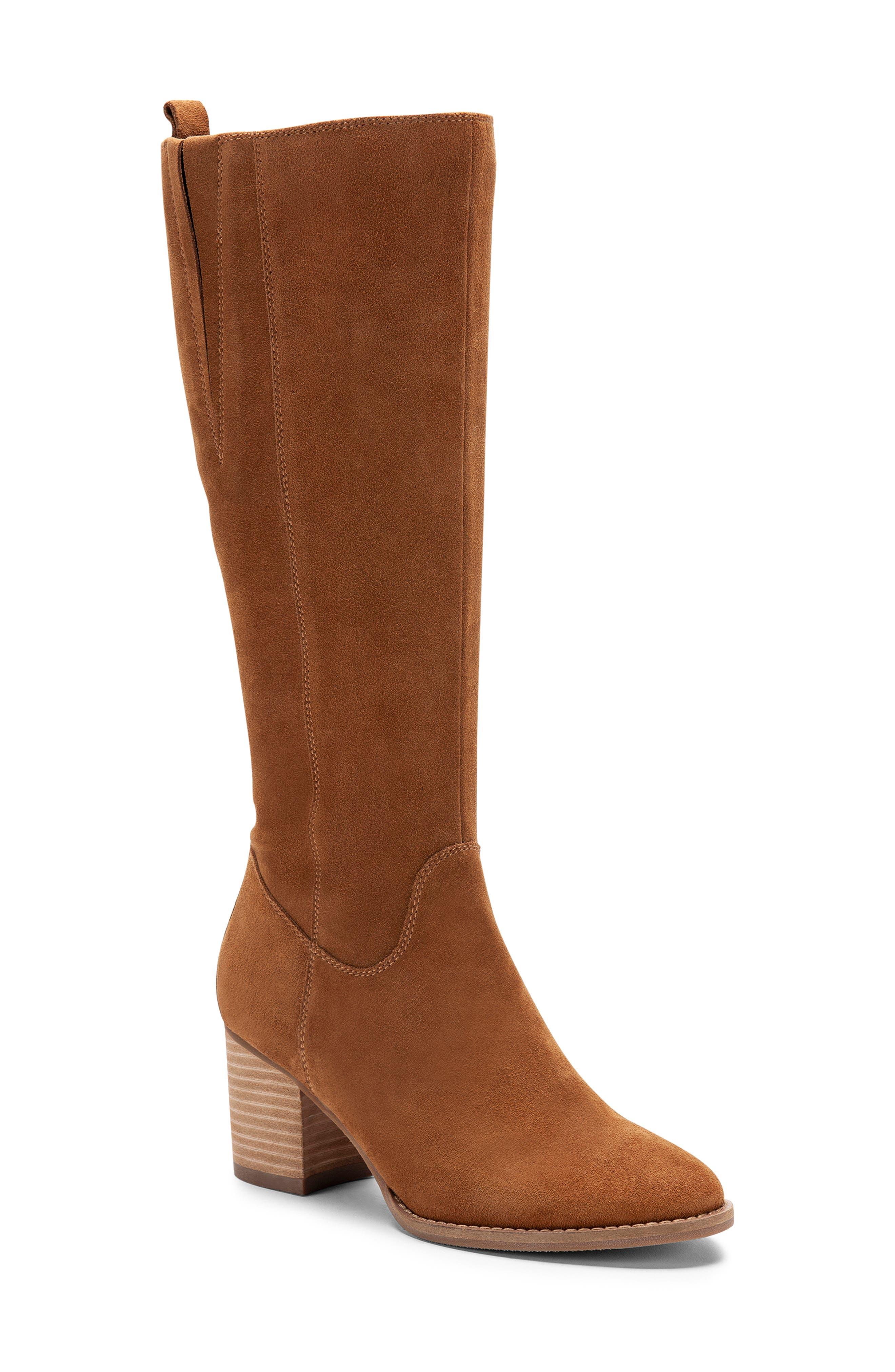 Blondo Nikki Waterproof Knee High Waterproof Boot, Brown