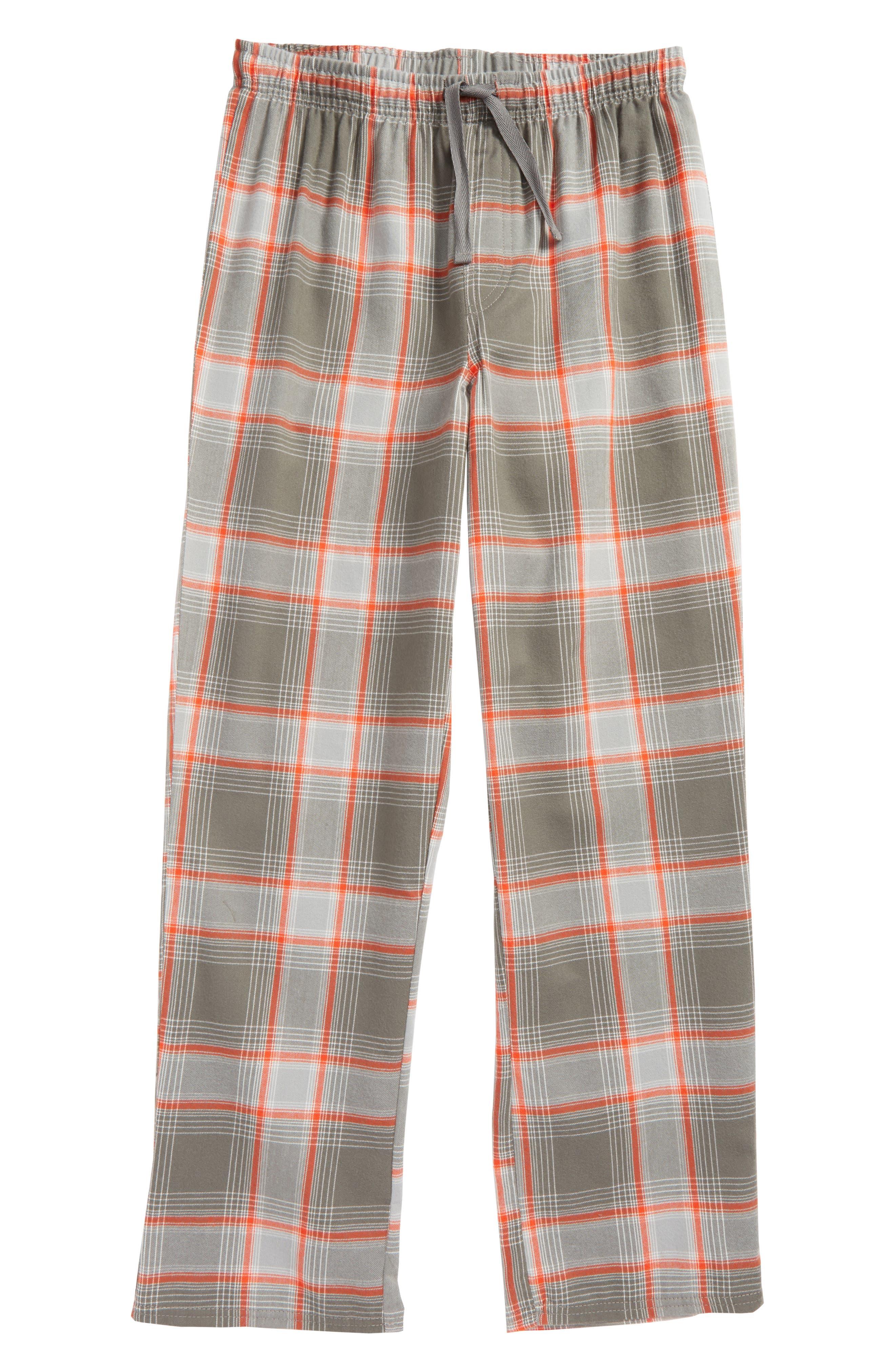 Plaid Flannel Pants,                             Main thumbnail 3, color,