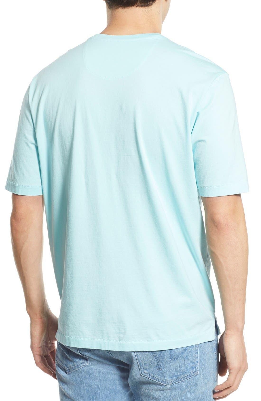New Bali Sky Pima Cotton Pocket T-Shirt,                             Alternate thumbnail 73, color,