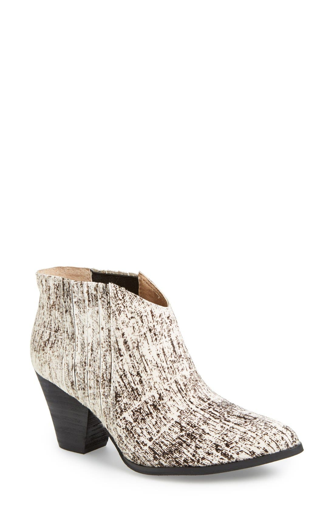 'Addie' Pointy Toe Ankle Bootie,                             Main thumbnail 2, color,