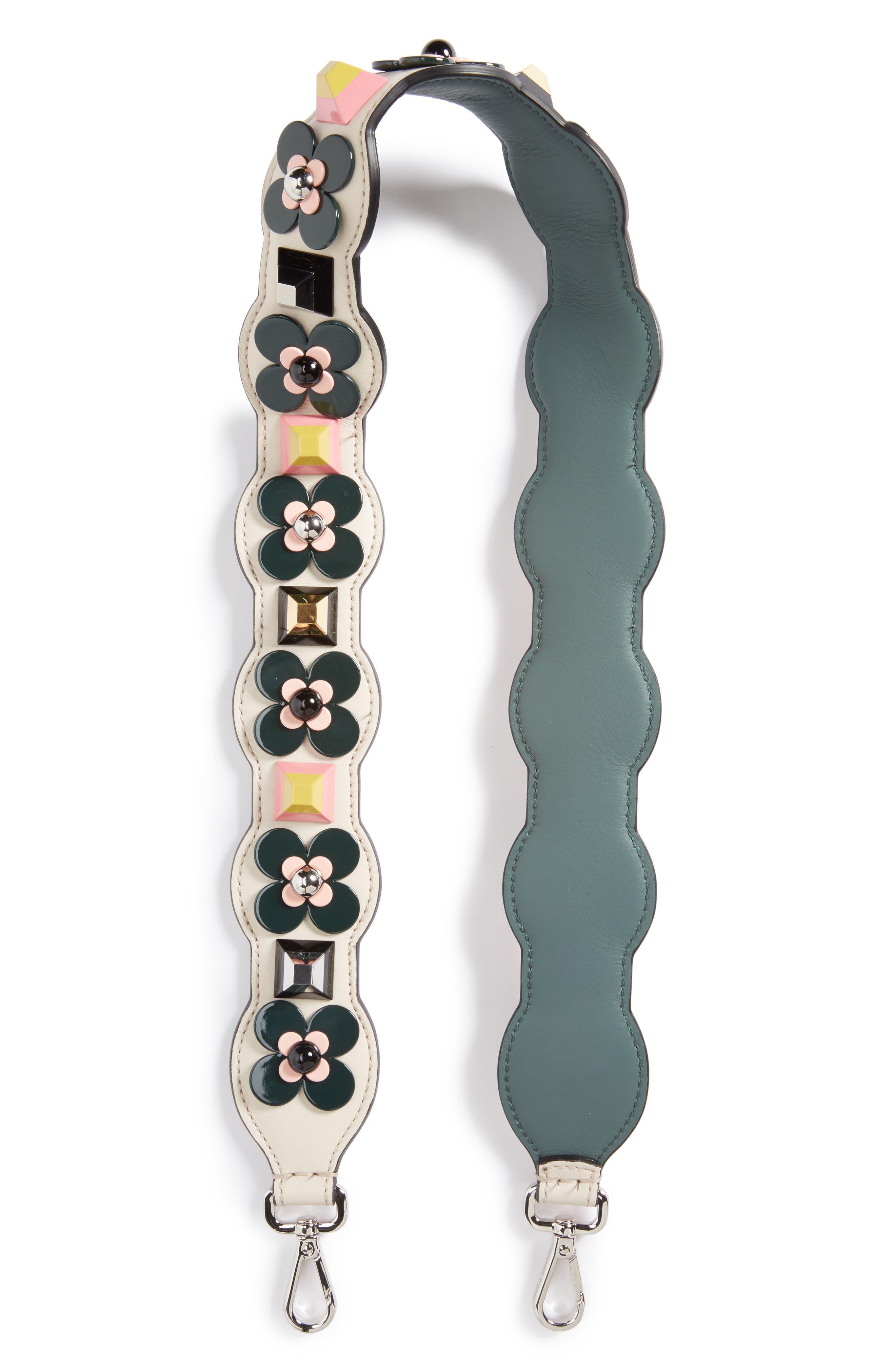 Studded Flower Guitar Bag Strap,                         Main,                         color, 459
