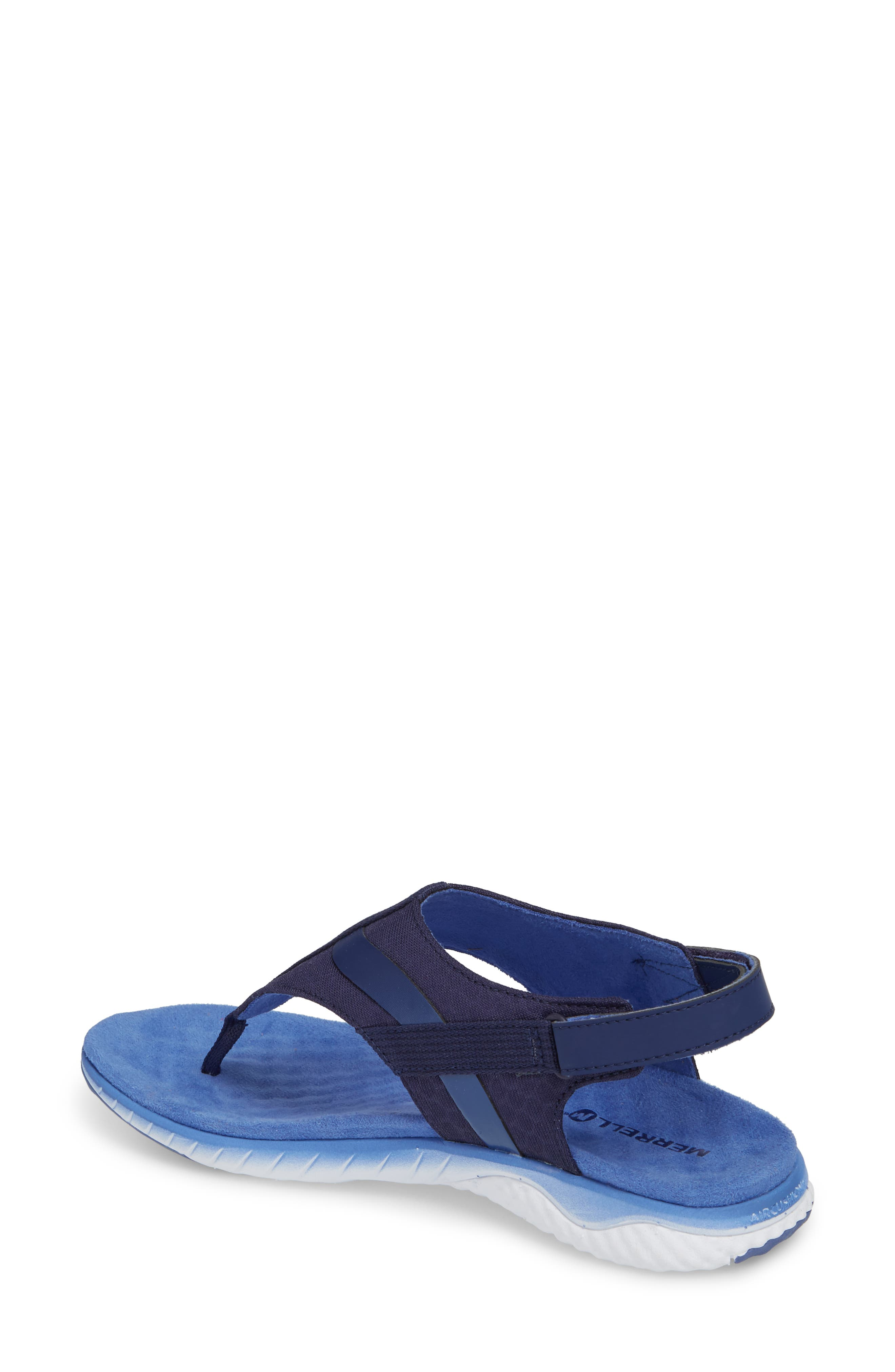 1SIX8 Linna Slide Air Cushion+ Sandal,                             Alternate thumbnail 7, color,