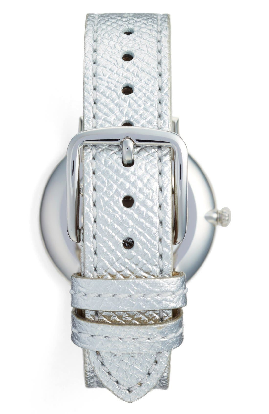 'Slim Easton' Leather Strap Watch, 35mm,                             Alternate thumbnail 2, color,                             040