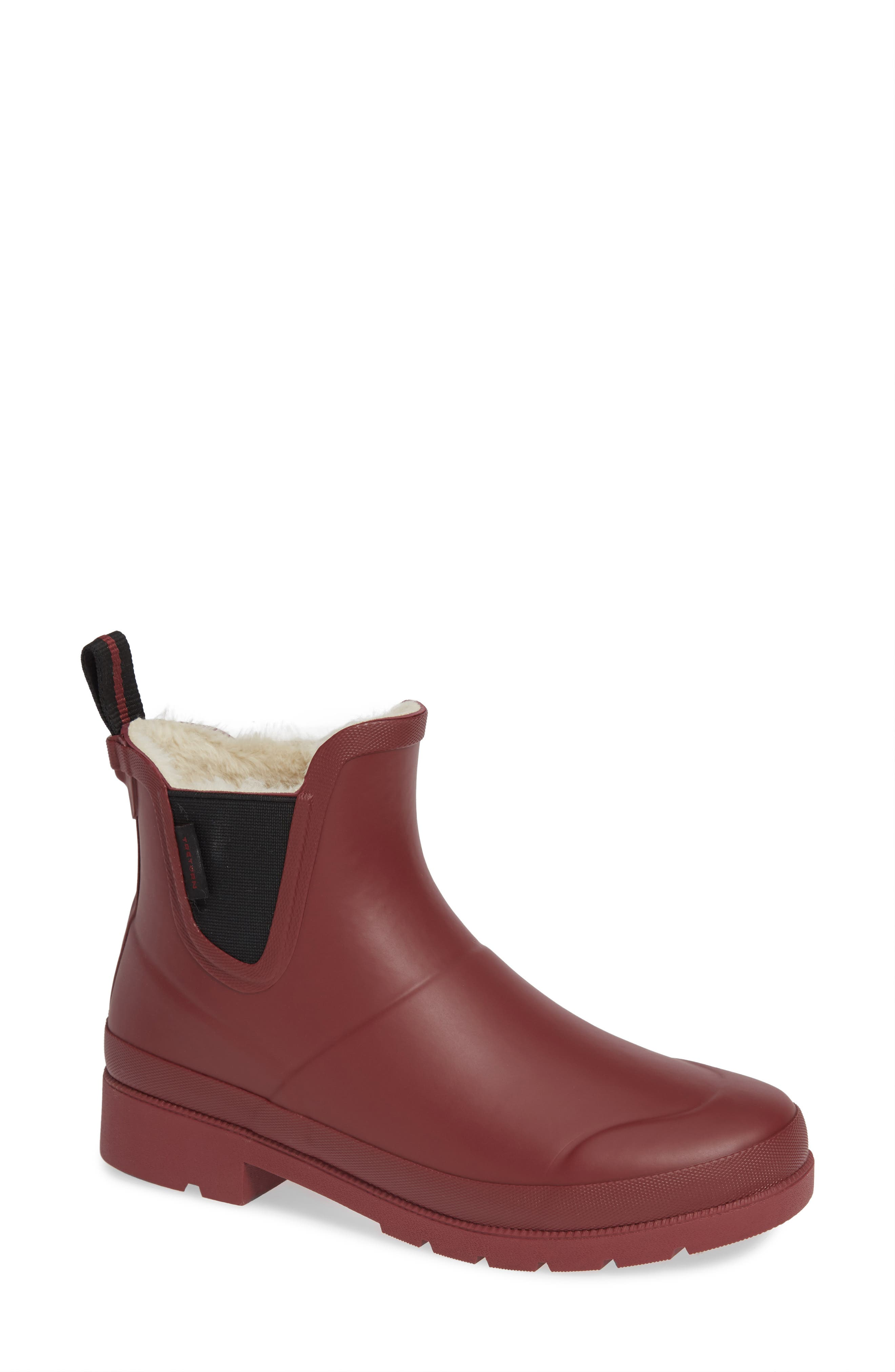 Women'S Lina Cold-Weather Booties in Bordeaux/ Black