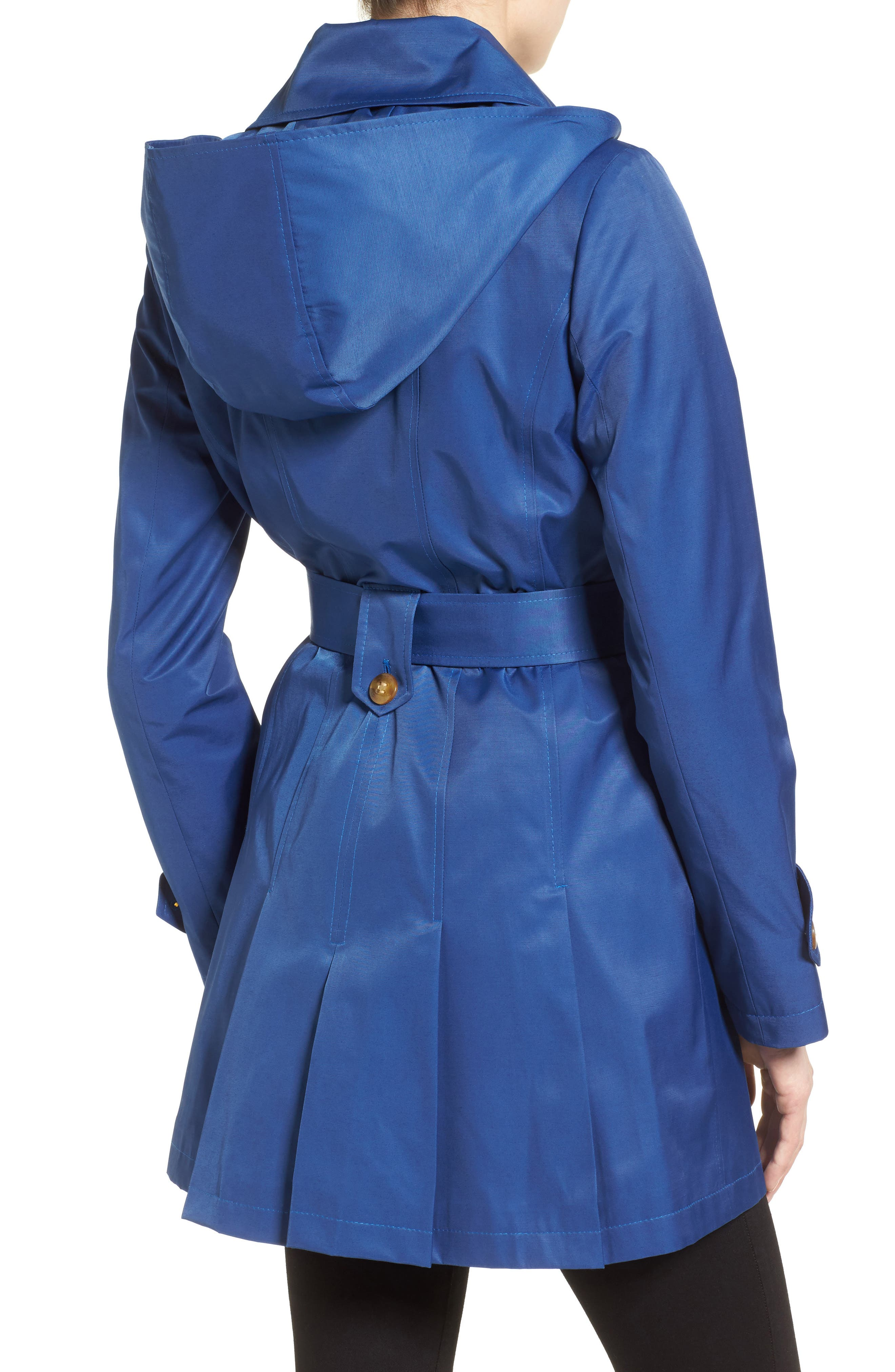 'Scarpa' Hooded Single Breasted Trench Coat,                             Alternate thumbnail 14, color,