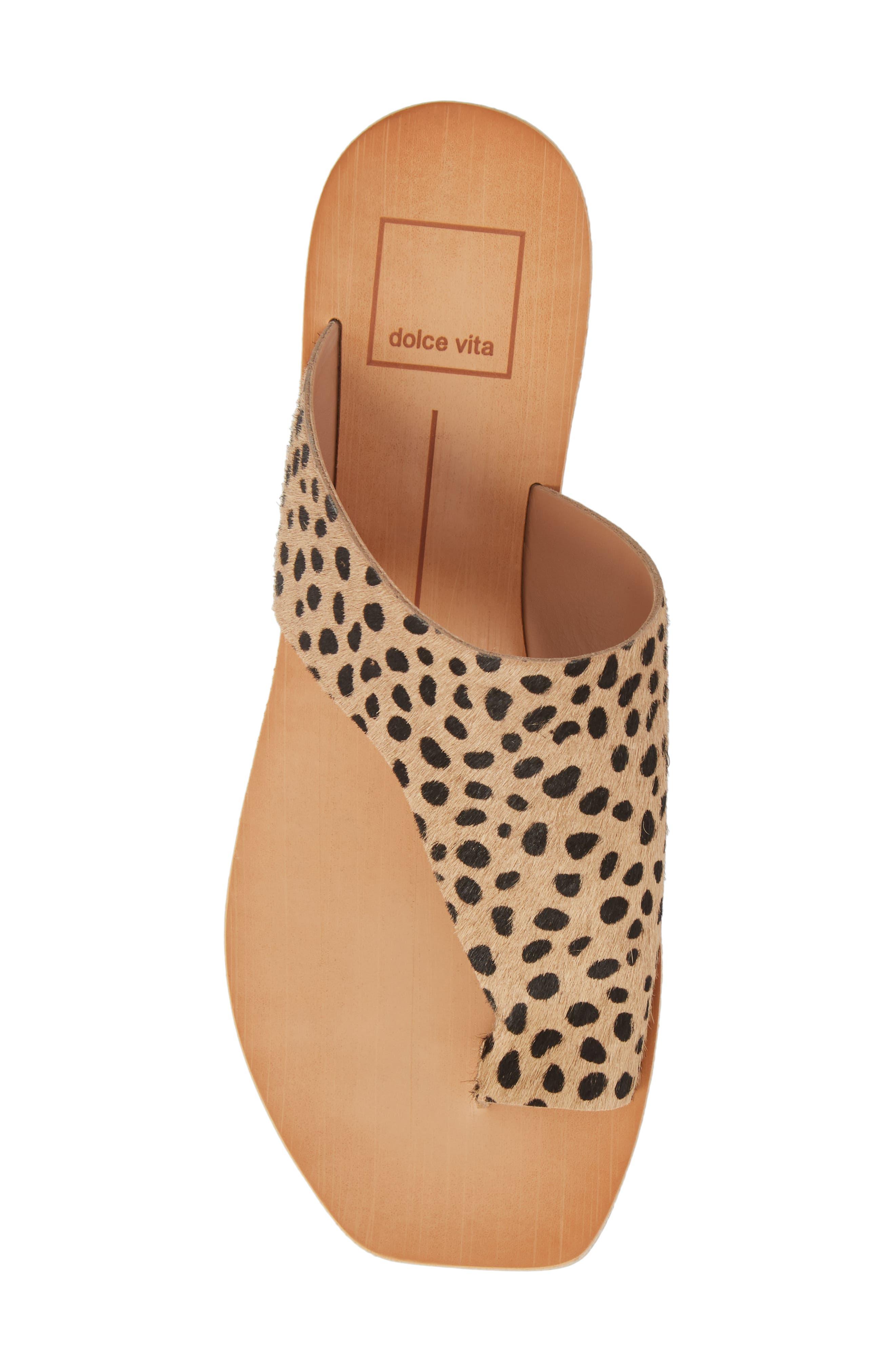 Hazle Genuine Calf Hair Sandal,                             Alternate thumbnail 15, color,