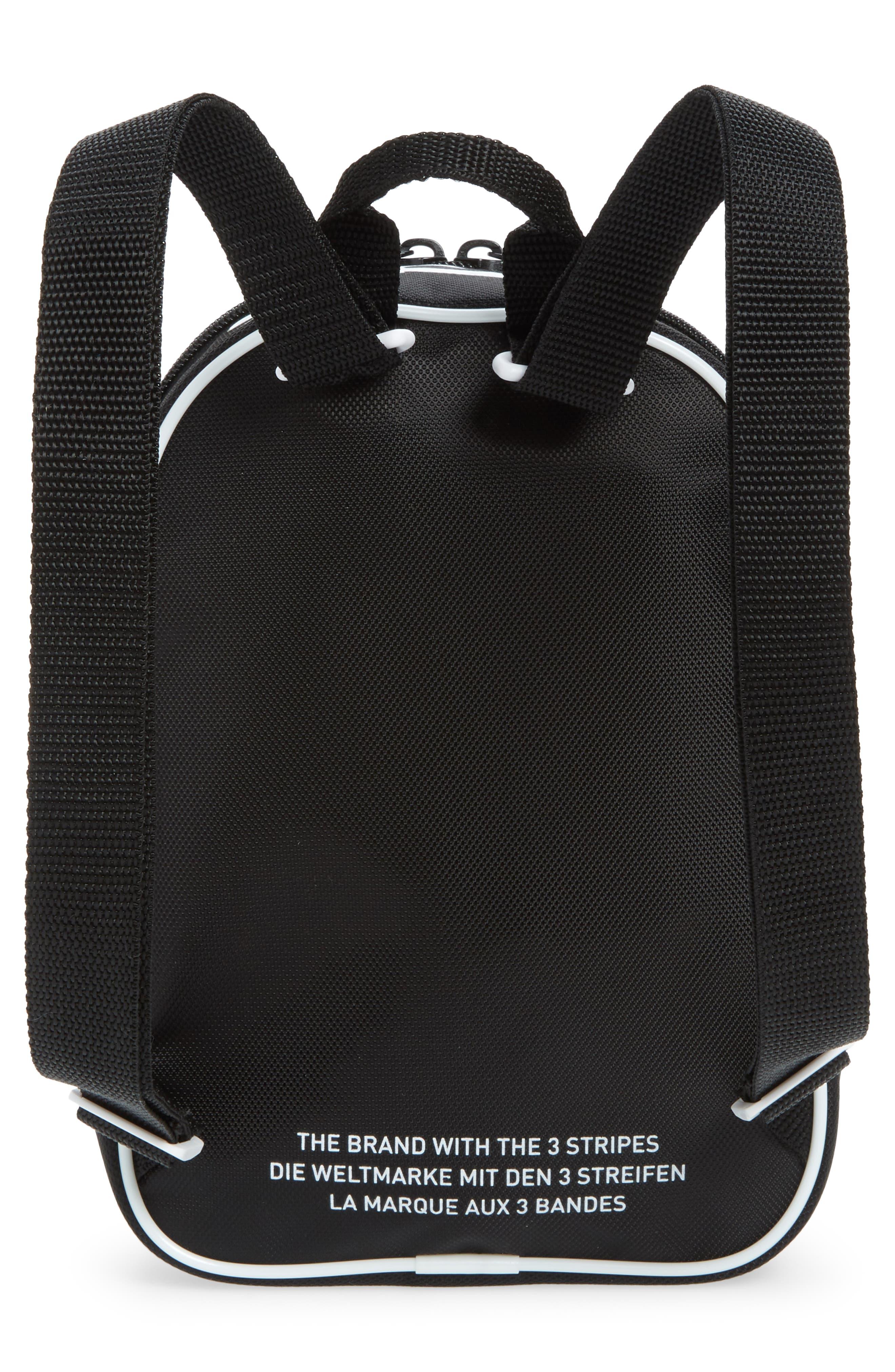 Originals Santiago Mini Backpack,                             Alternate thumbnail 2, color,                             BLACK