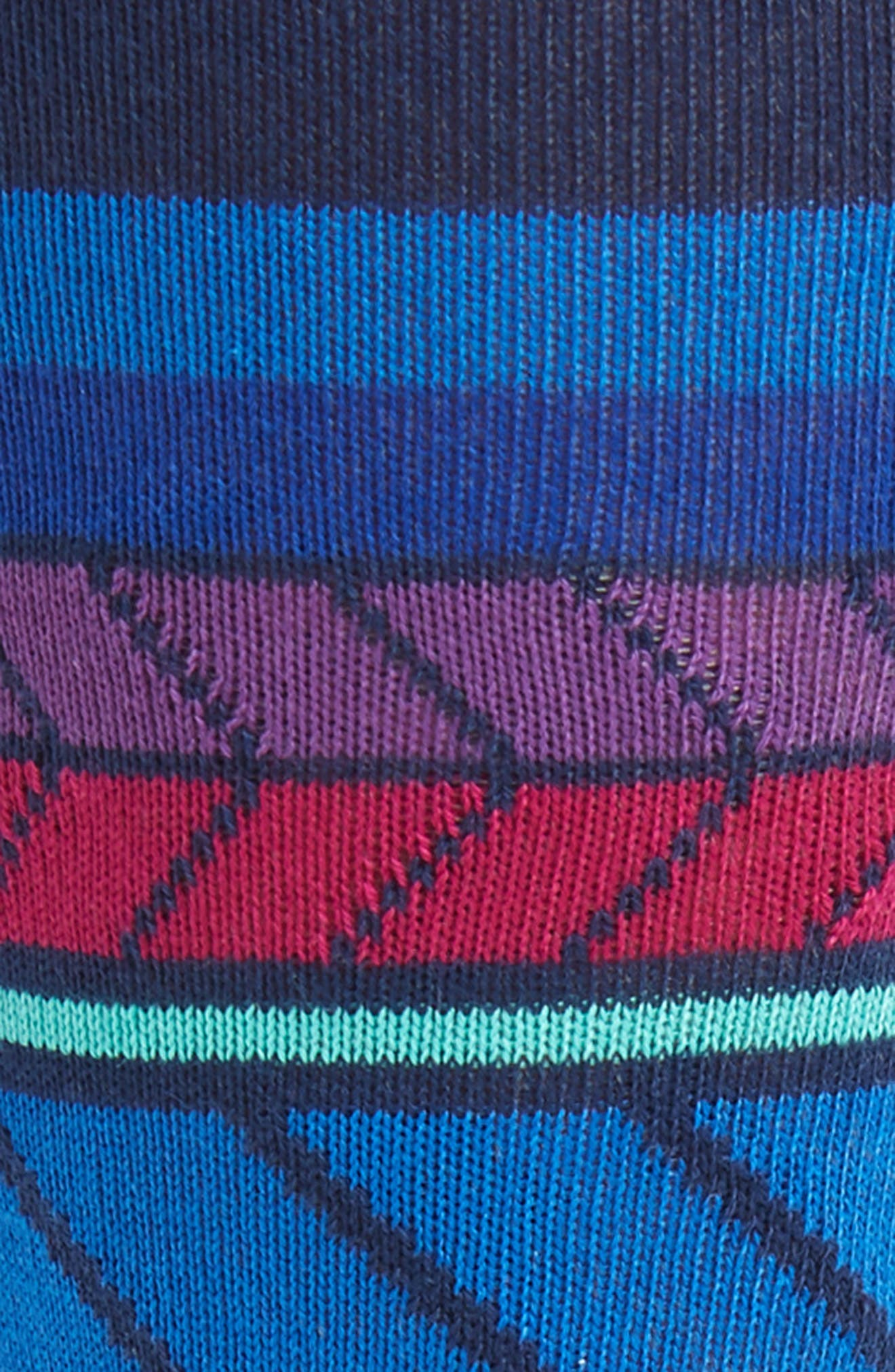 Eden Stripe Socks,                             Alternate thumbnail 2, color,                             415