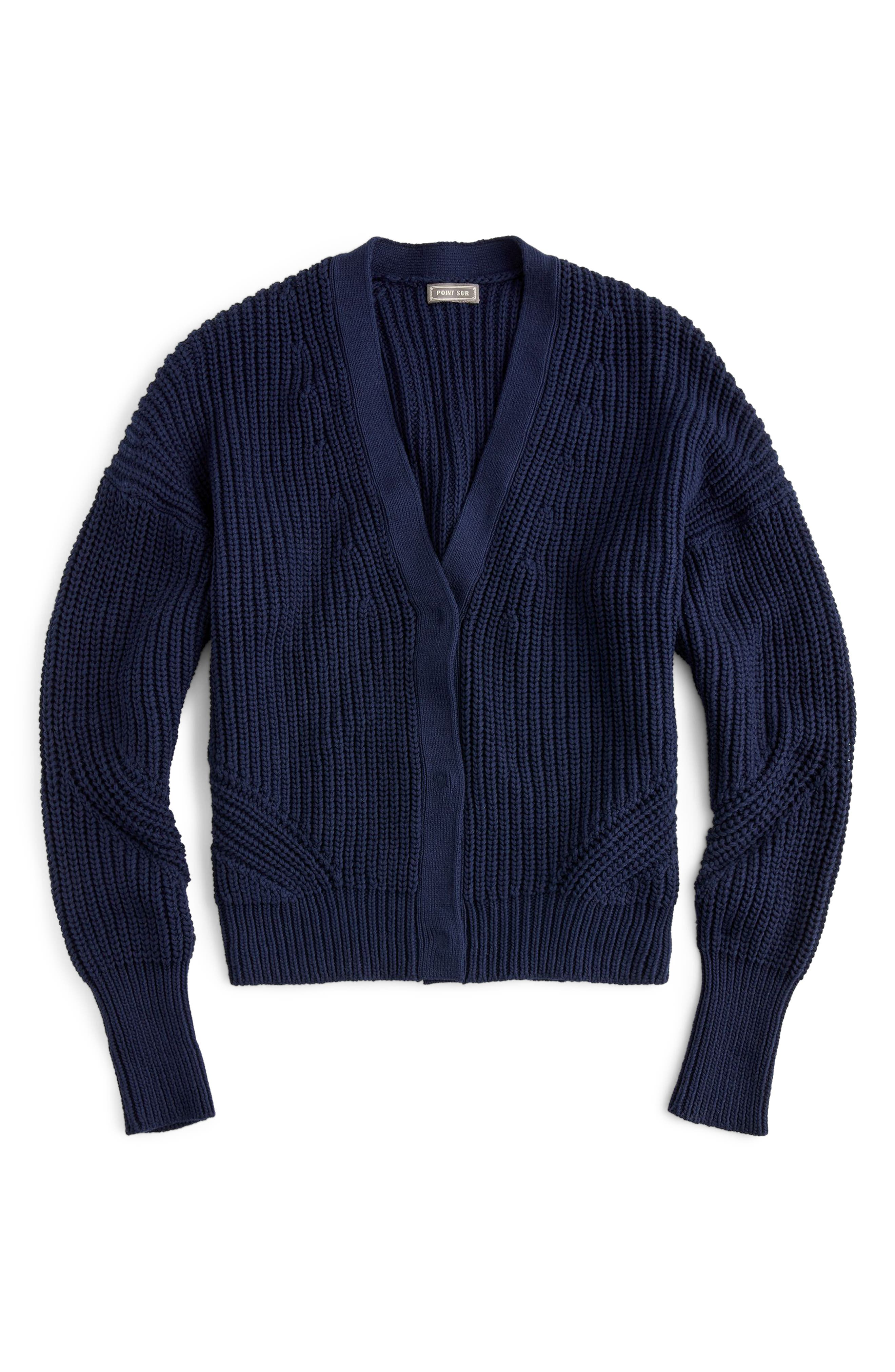 Point Sur Ribbed Cardigan, Main, color, 400