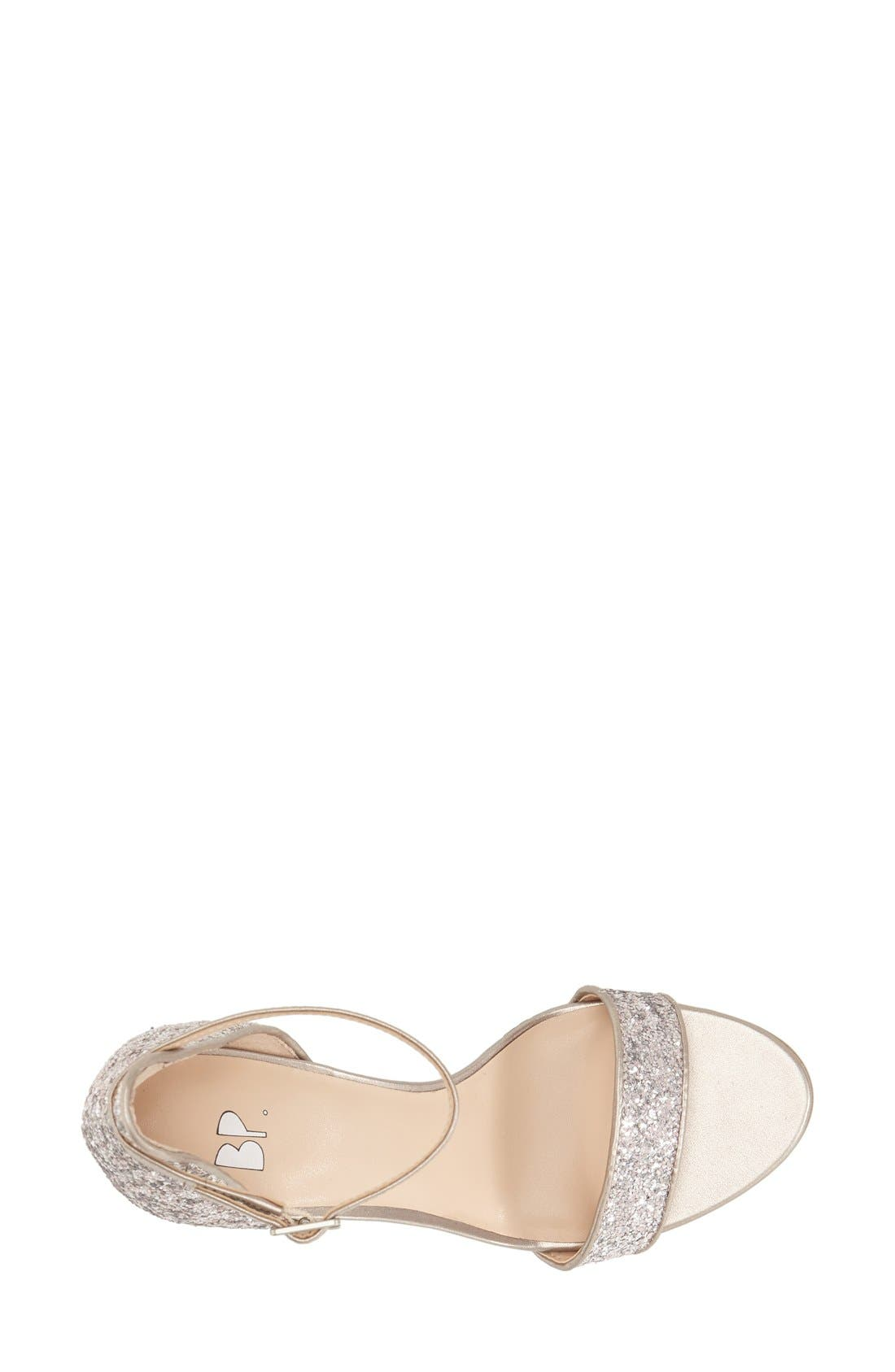 'Luminate' Open Toe Dress Sandal,                             Alternate thumbnail 138, color,