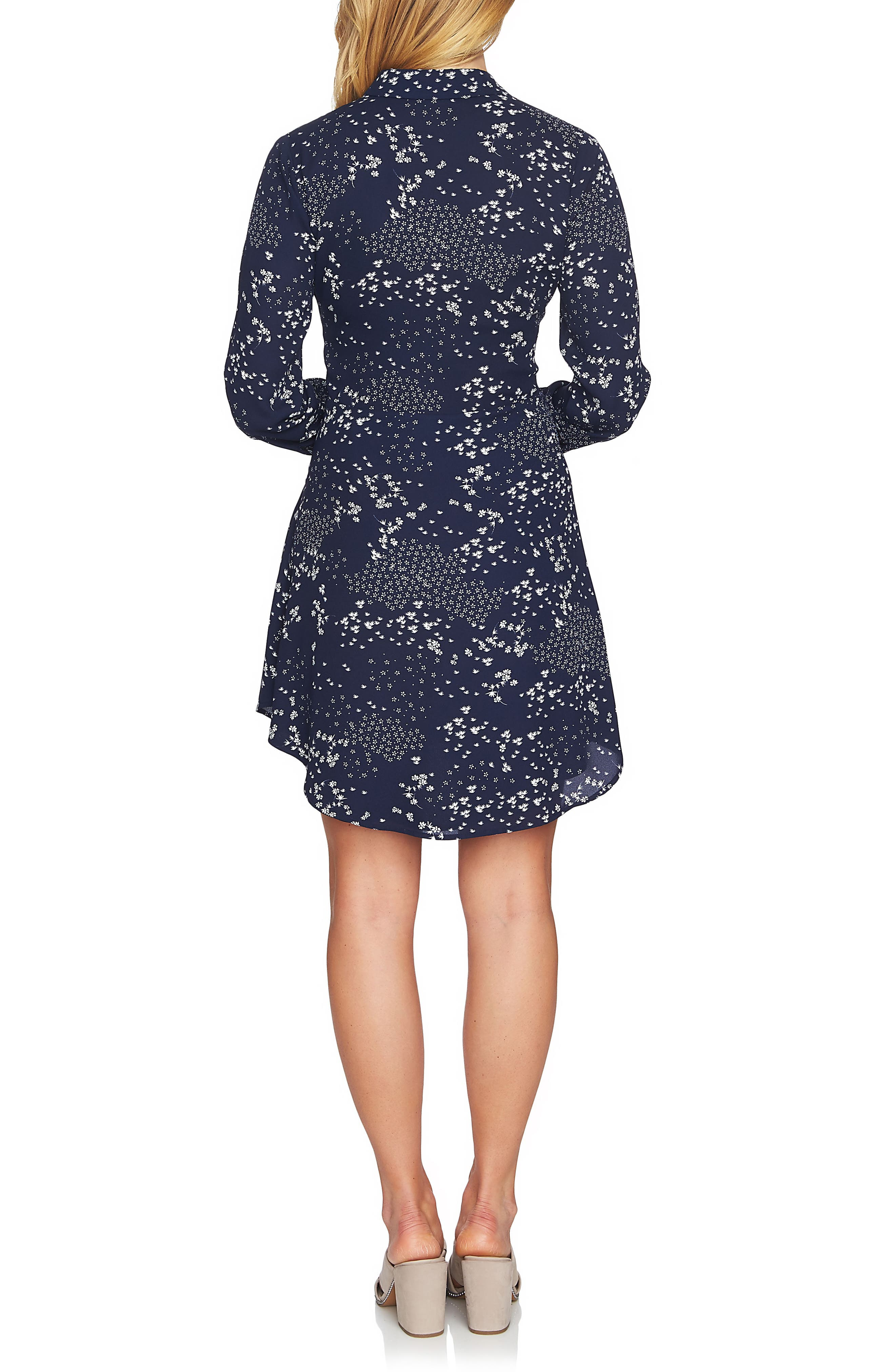 Tie Front Shirtdress,                             Alternate thumbnail 2, color,                             453