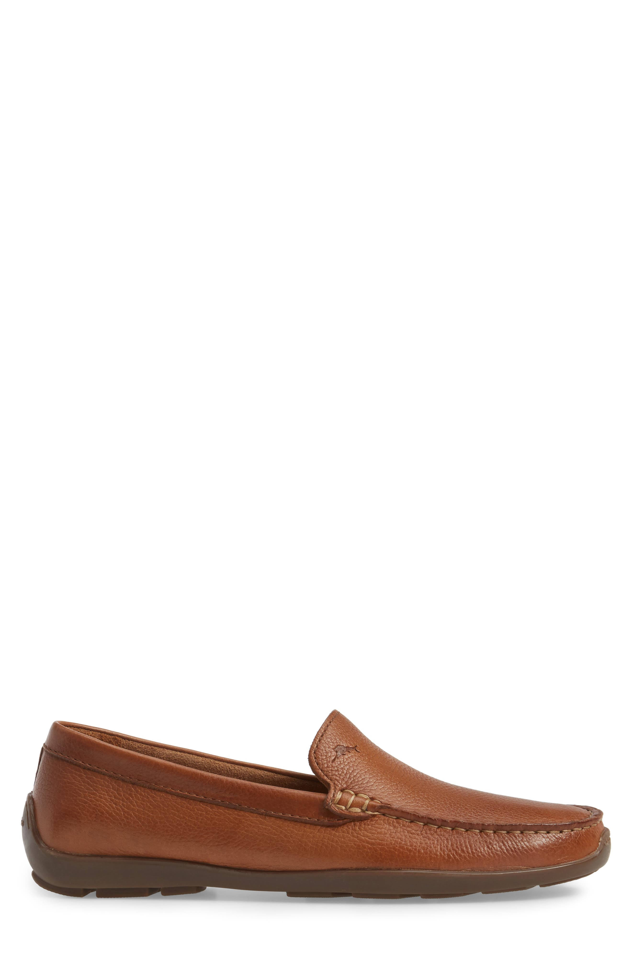 Orion Venetian Loafer,                             Alternate thumbnail 3, color,                             TAN LEATHER