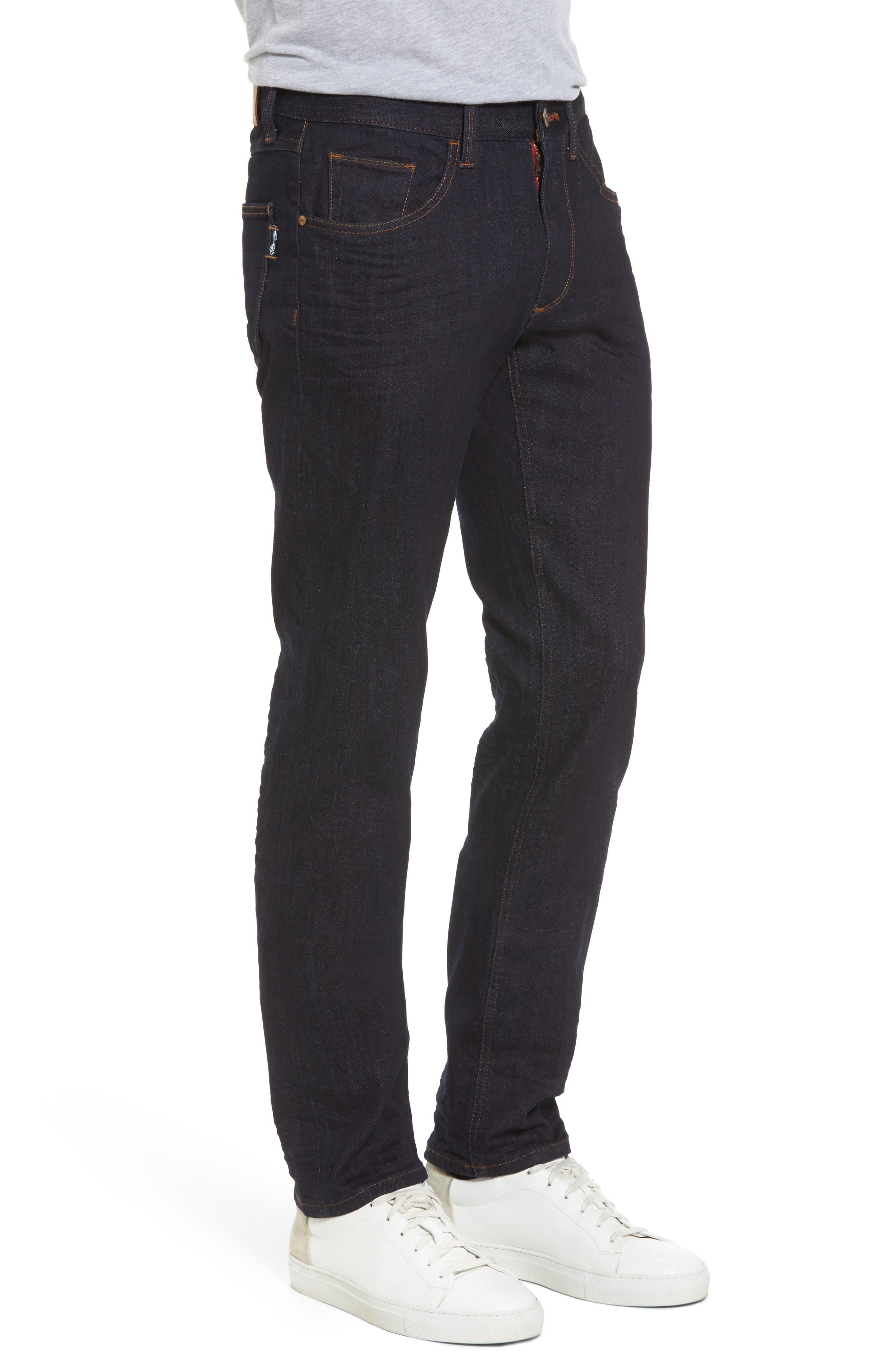 Canal Slim Fit Jeans,                             Alternate thumbnail 3, color,                             460