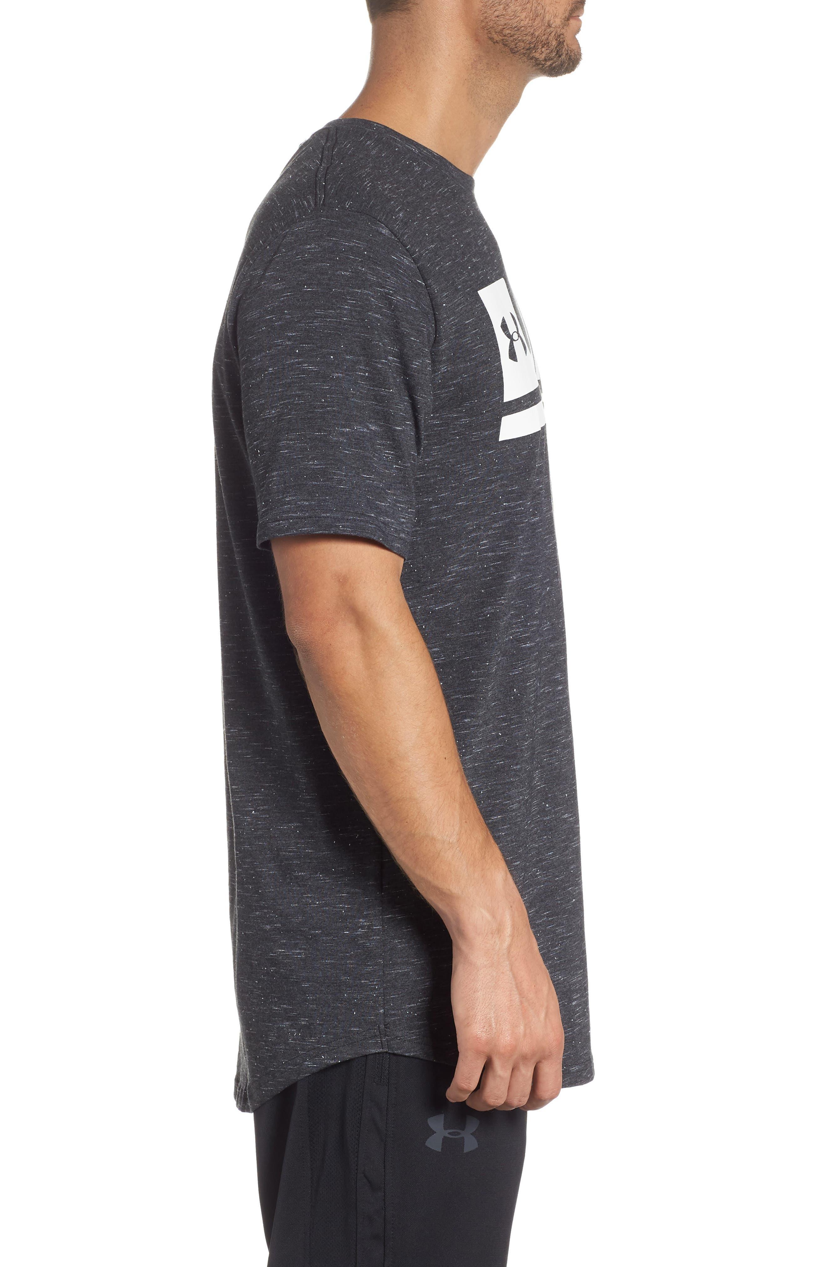 Sportstyle Graphic T-Shirt,                             Alternate thumbnail 3, color,                             BLACK