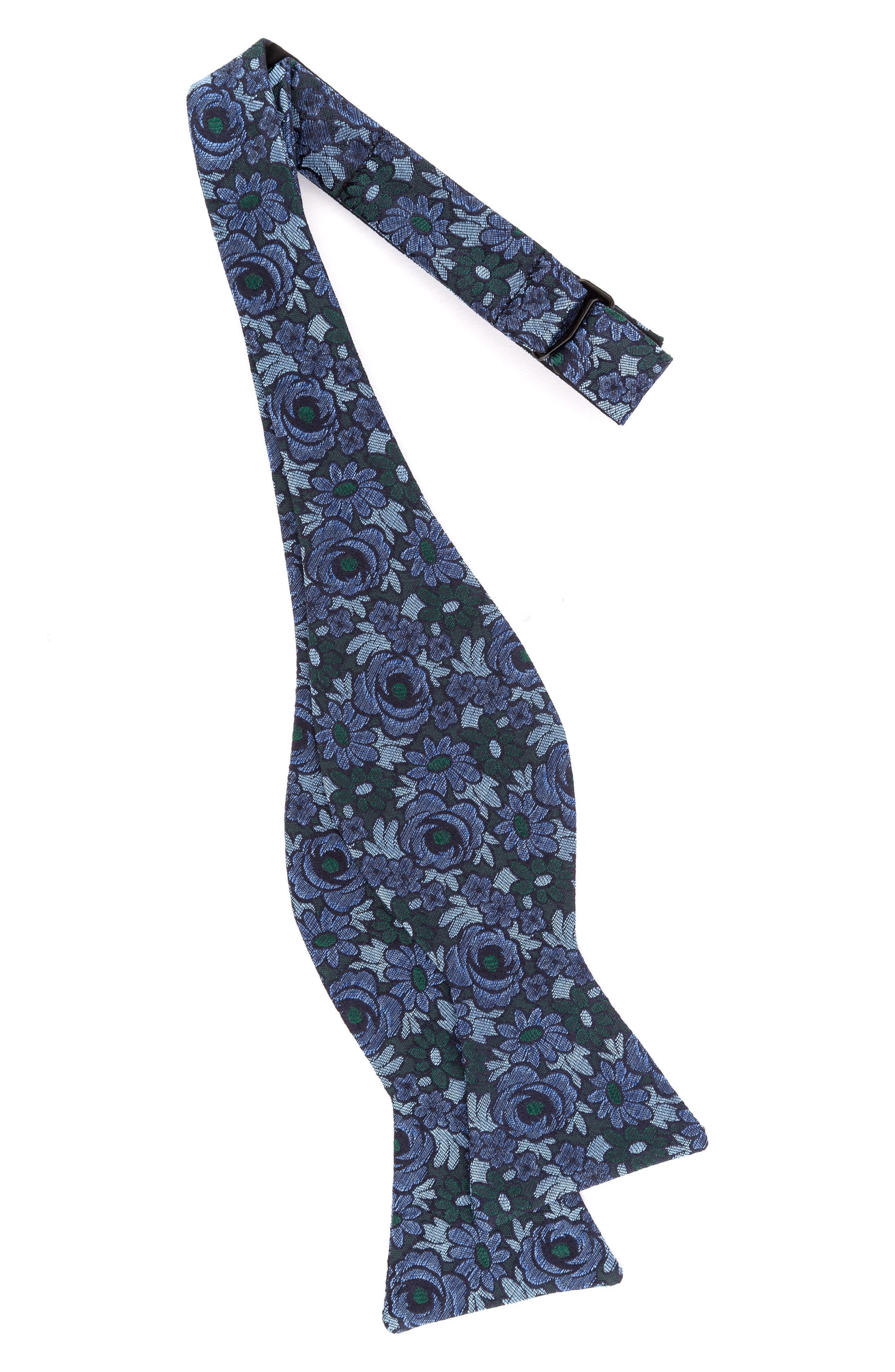Botanical Silk Bow Tie,                             Alternate thumbnail 6, color,