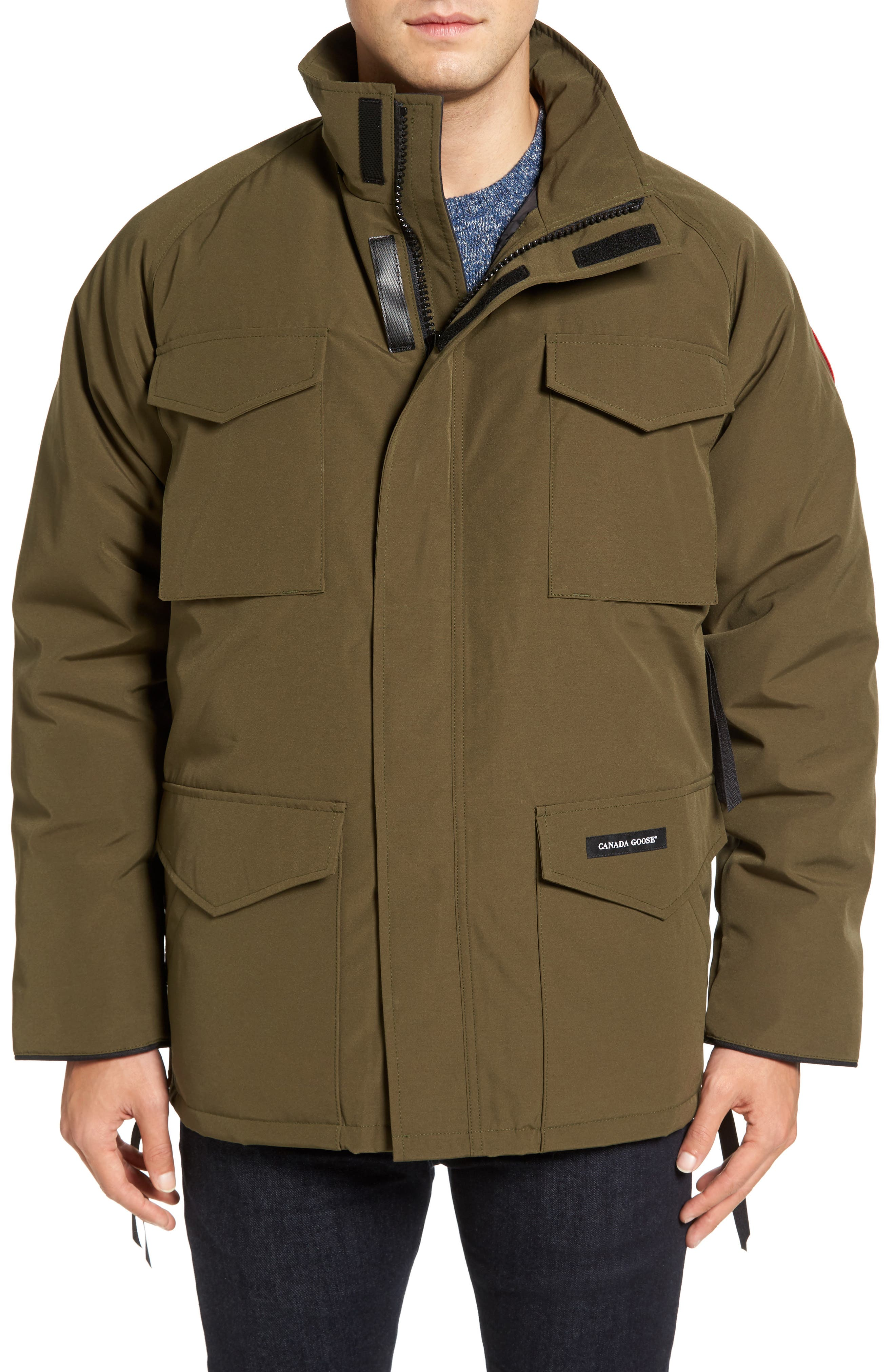 'Constable' Regular Fit Water Resistant Down Parka,                             Alternate thumbnail 11, color,