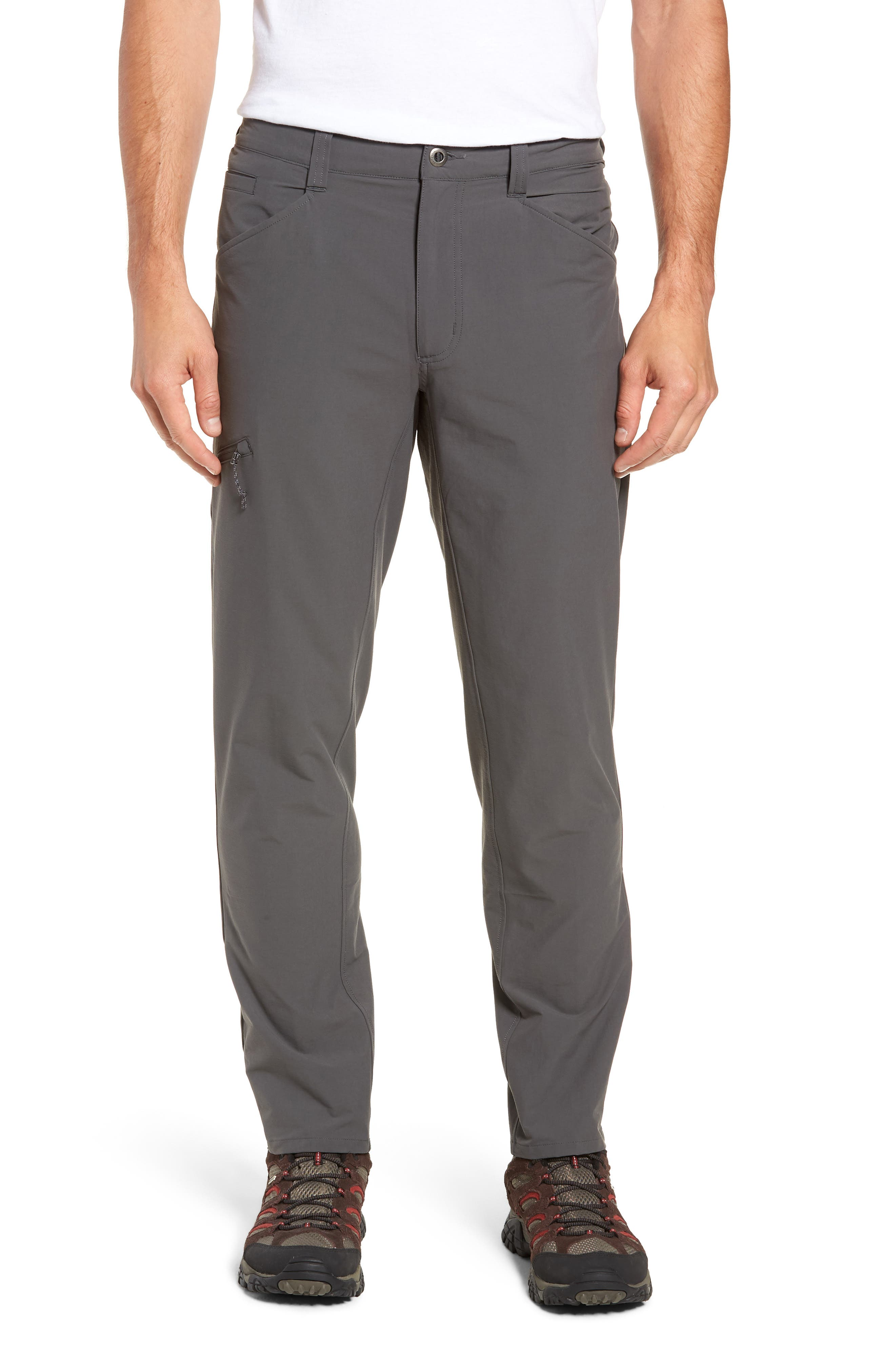 Quandary Pants,                             Main thumbnail 1, color,                             FORGE GREY