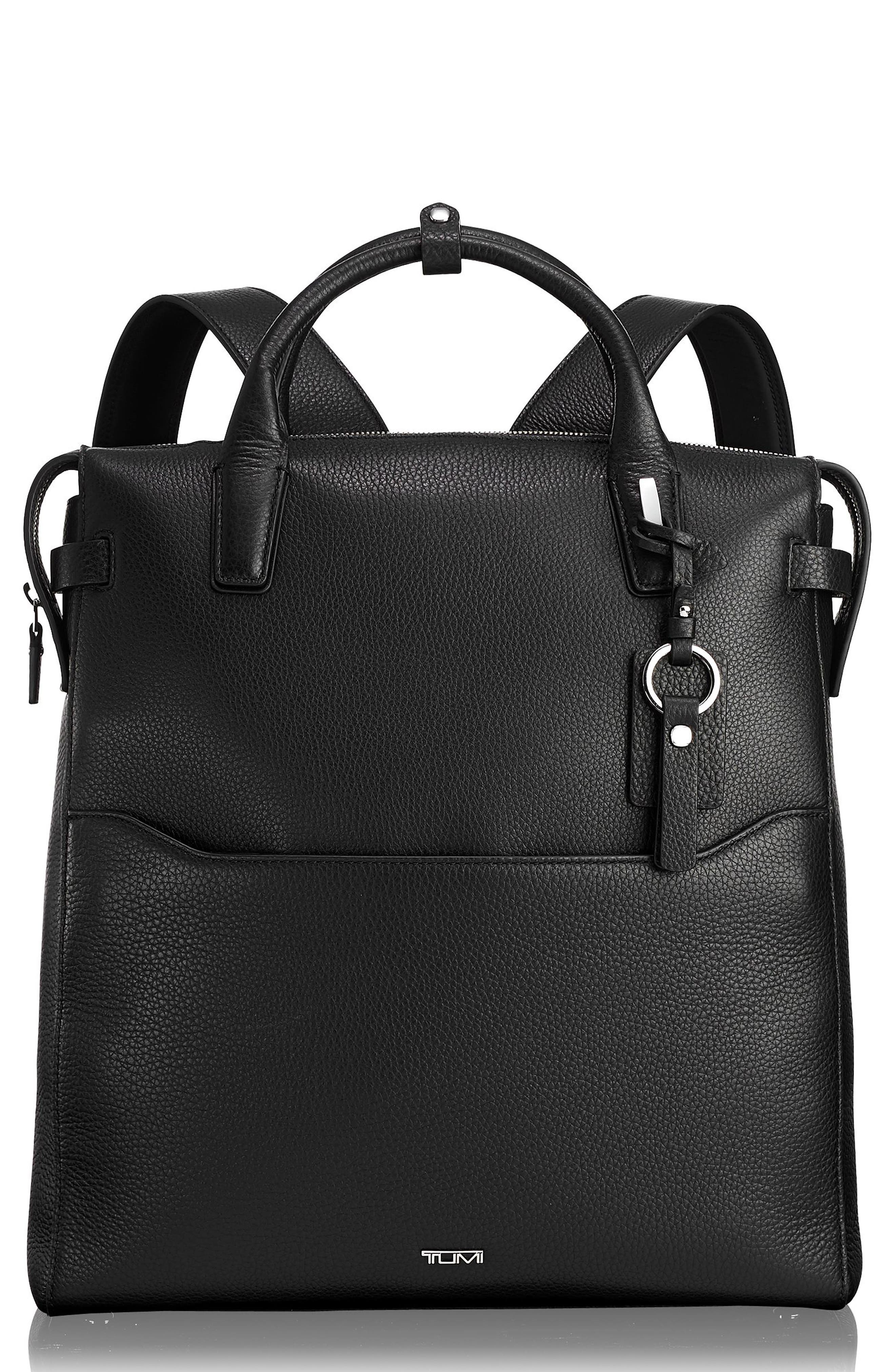 Stanton Stanton Safra Convertible Laptop Backpack/Tote,                         Main,                         color, BLACK