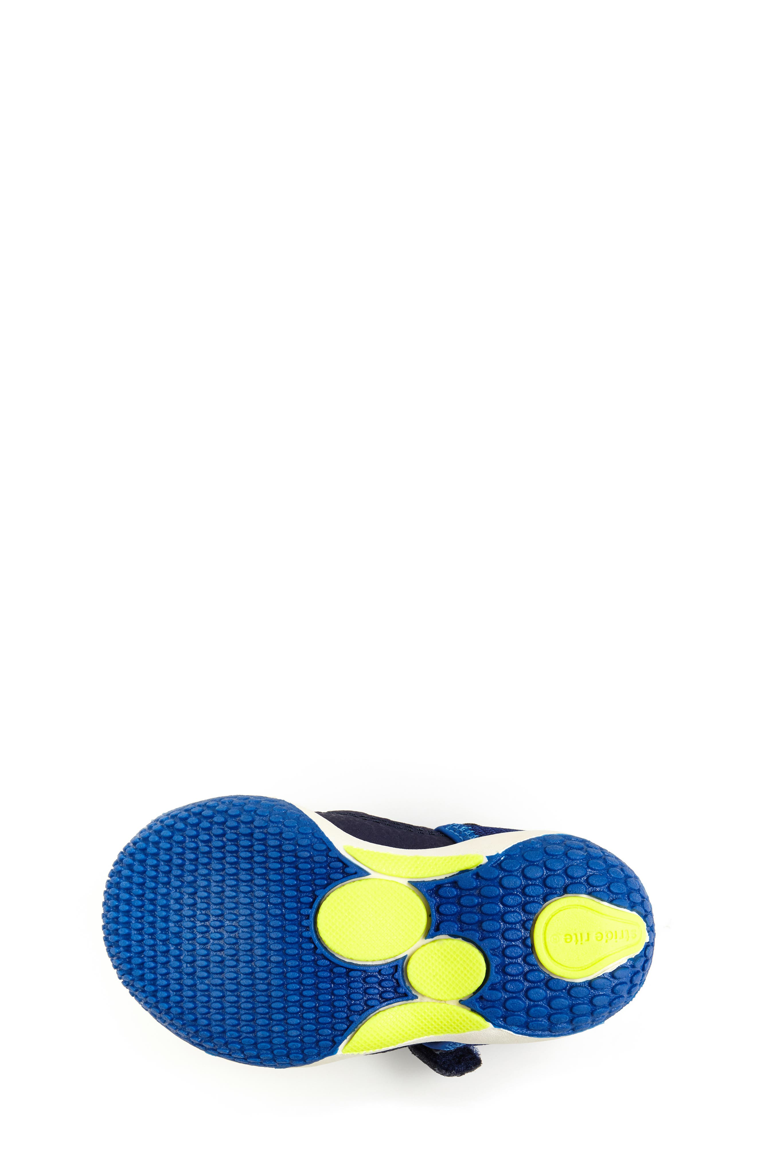 STRIDE RITE,                             Marina Water Sandal,                             Alternate thumbnail 5, color,                             ELECTRIC BLUE LEATHER/ TEXTILE