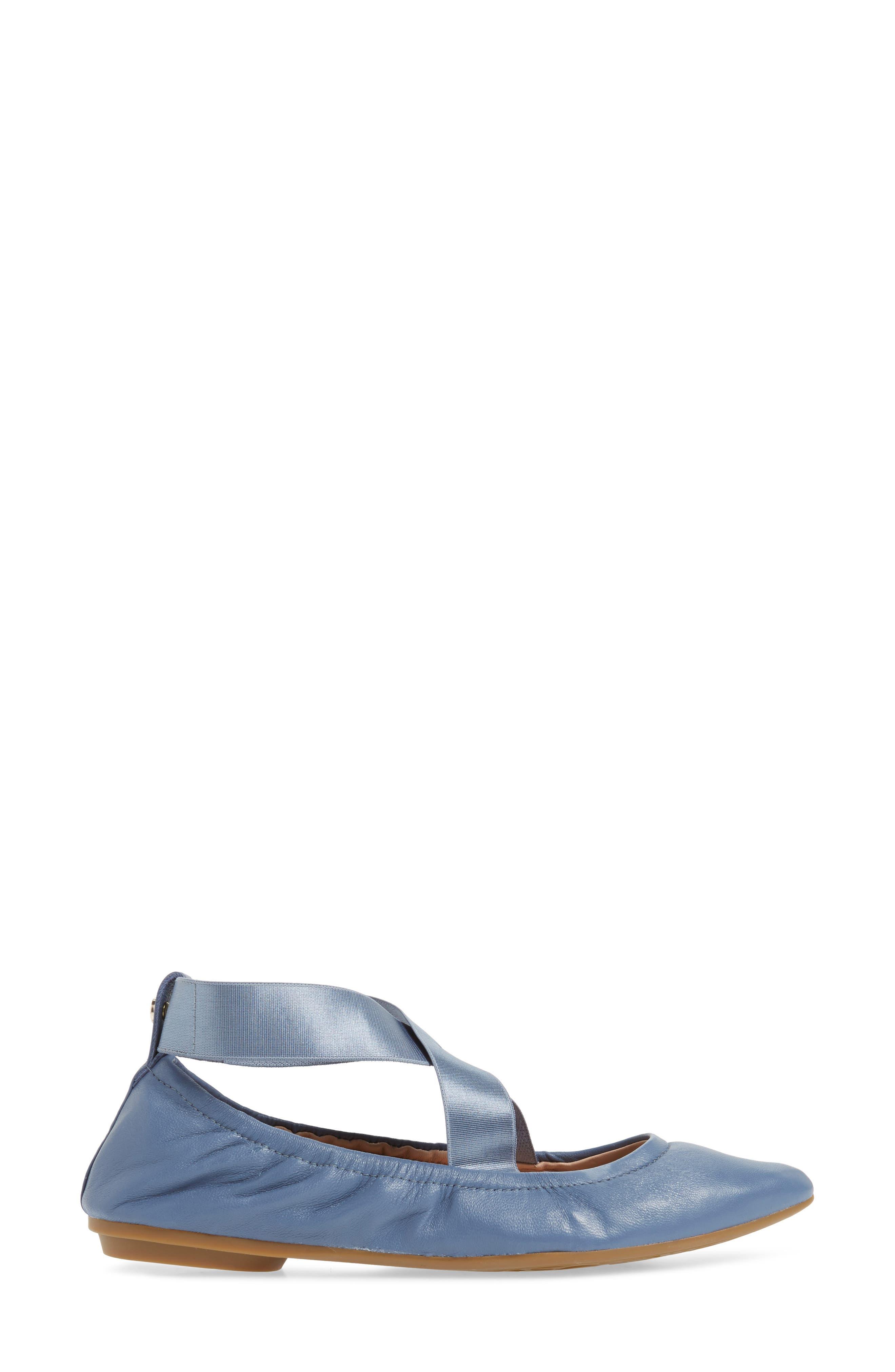 Edina Strappy Ballet Flat,                             Alternate thumbnail 13, color,