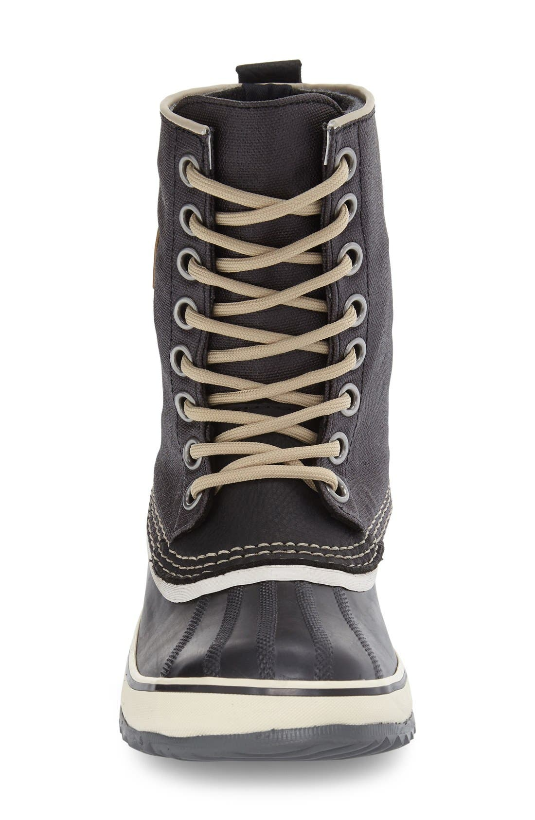 '1964 Premium' Waterproof Boot,                             Alternate thumbnail 4, color,                             BLACK/ FOSSIL