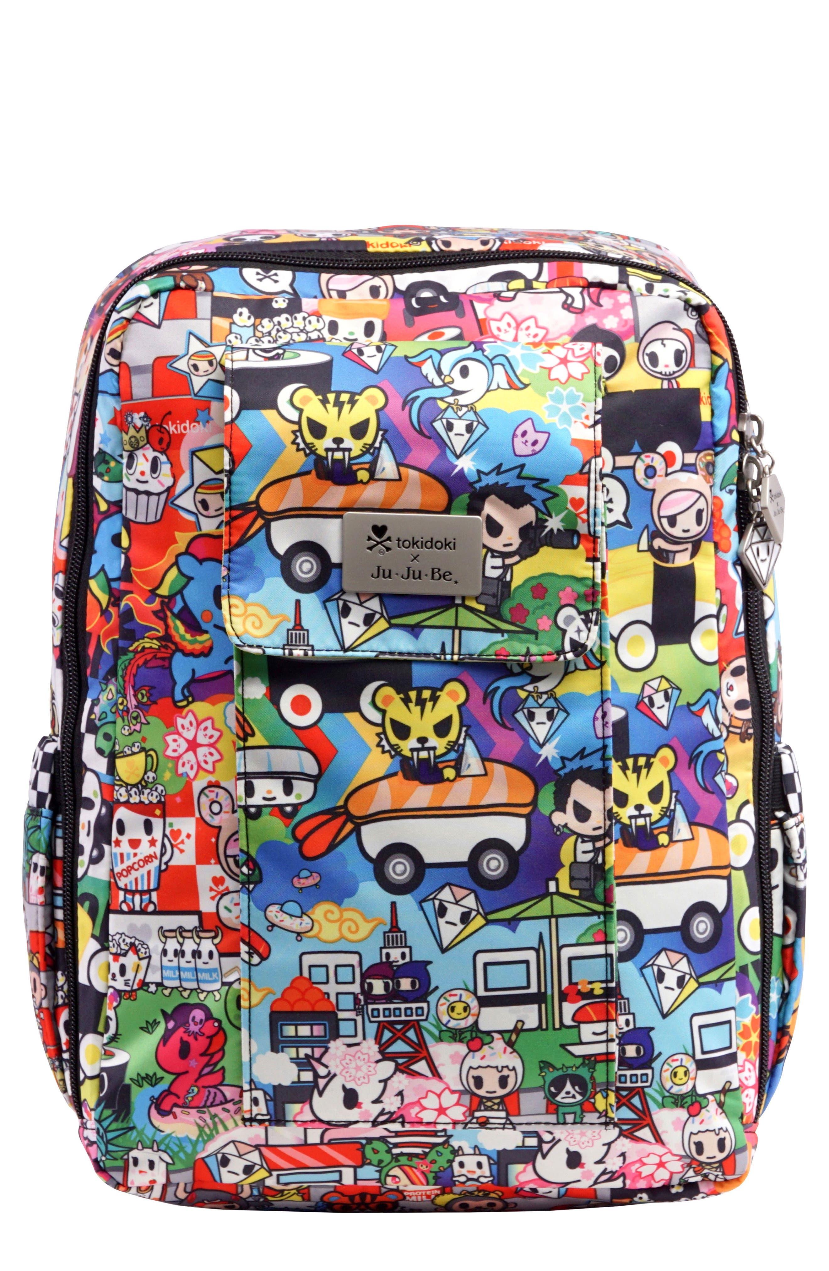 tokidoki x Ju-Ju-Be 'Mini Be' Backpack,                         Main,                         color, SUSHI CARS