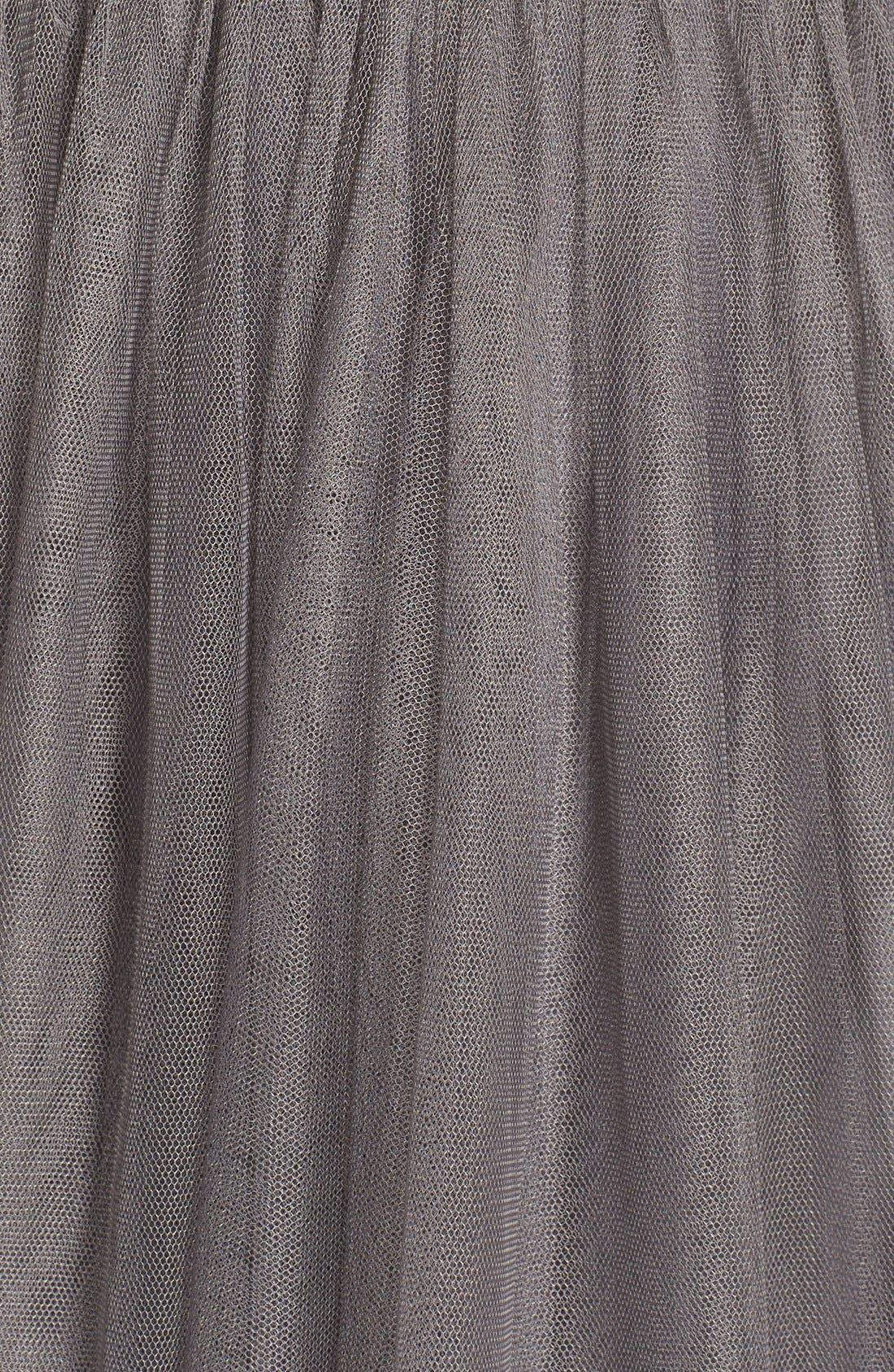Maia Convertible Tulle Tea Length Fit & Flare Dress,                             Alternate thumbnail 2, color,                             028
