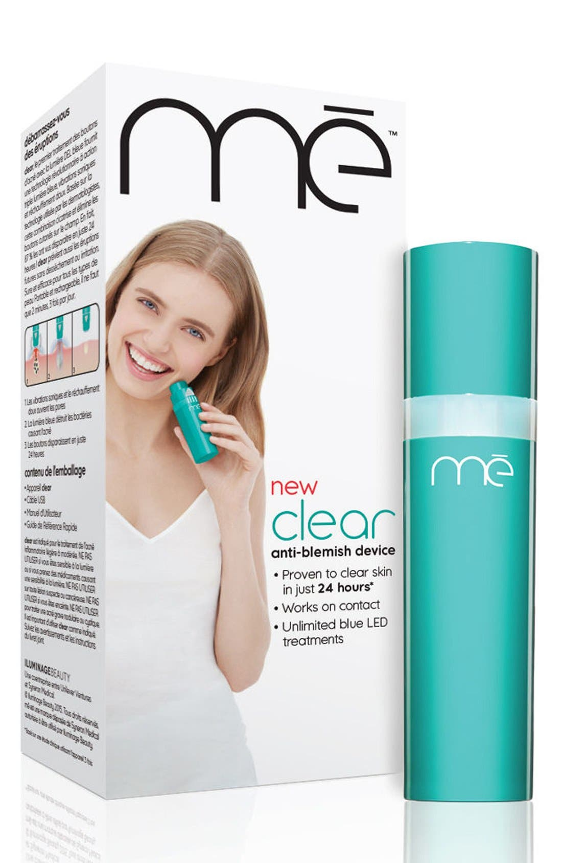 clear Anti-Blemish Device,                             Alternate thumbnail 3, color,                             000