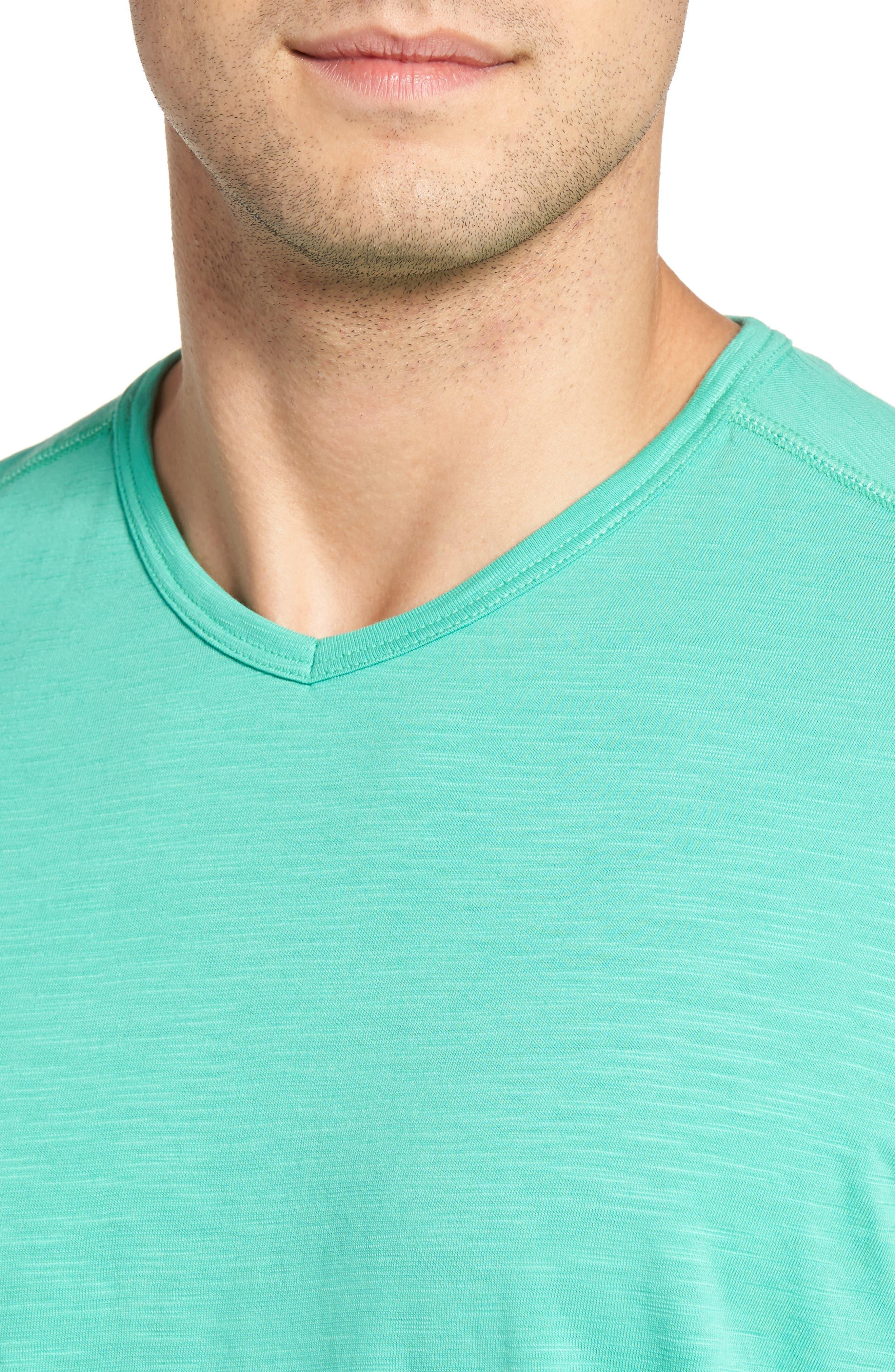 'Portside Player' Pima Cotton T-Shirt,                             Alternate thumbnail 35, color,