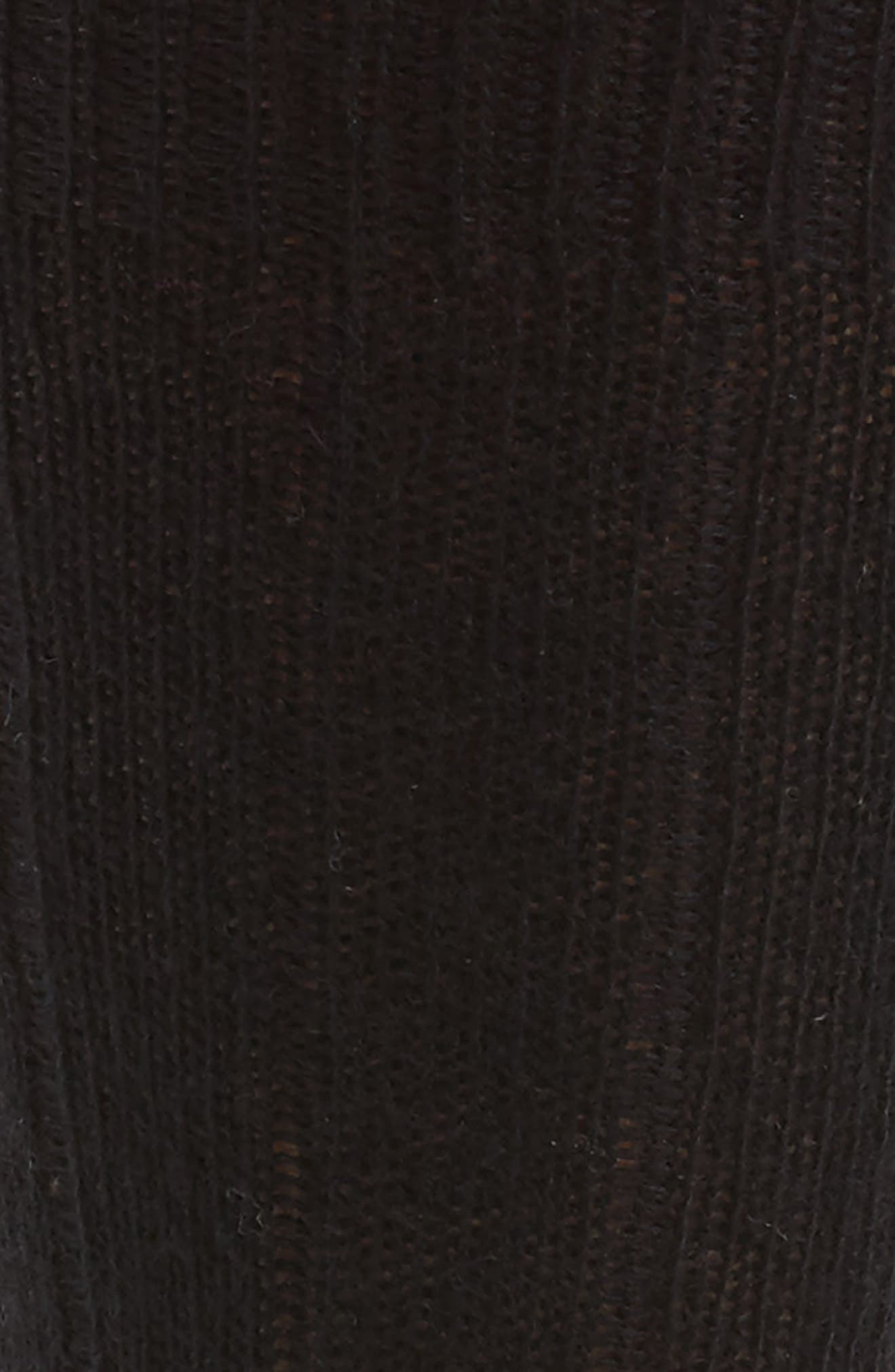 Cashmere Blend Socks,                             Alternate thumbnail 2, color,                             BLK