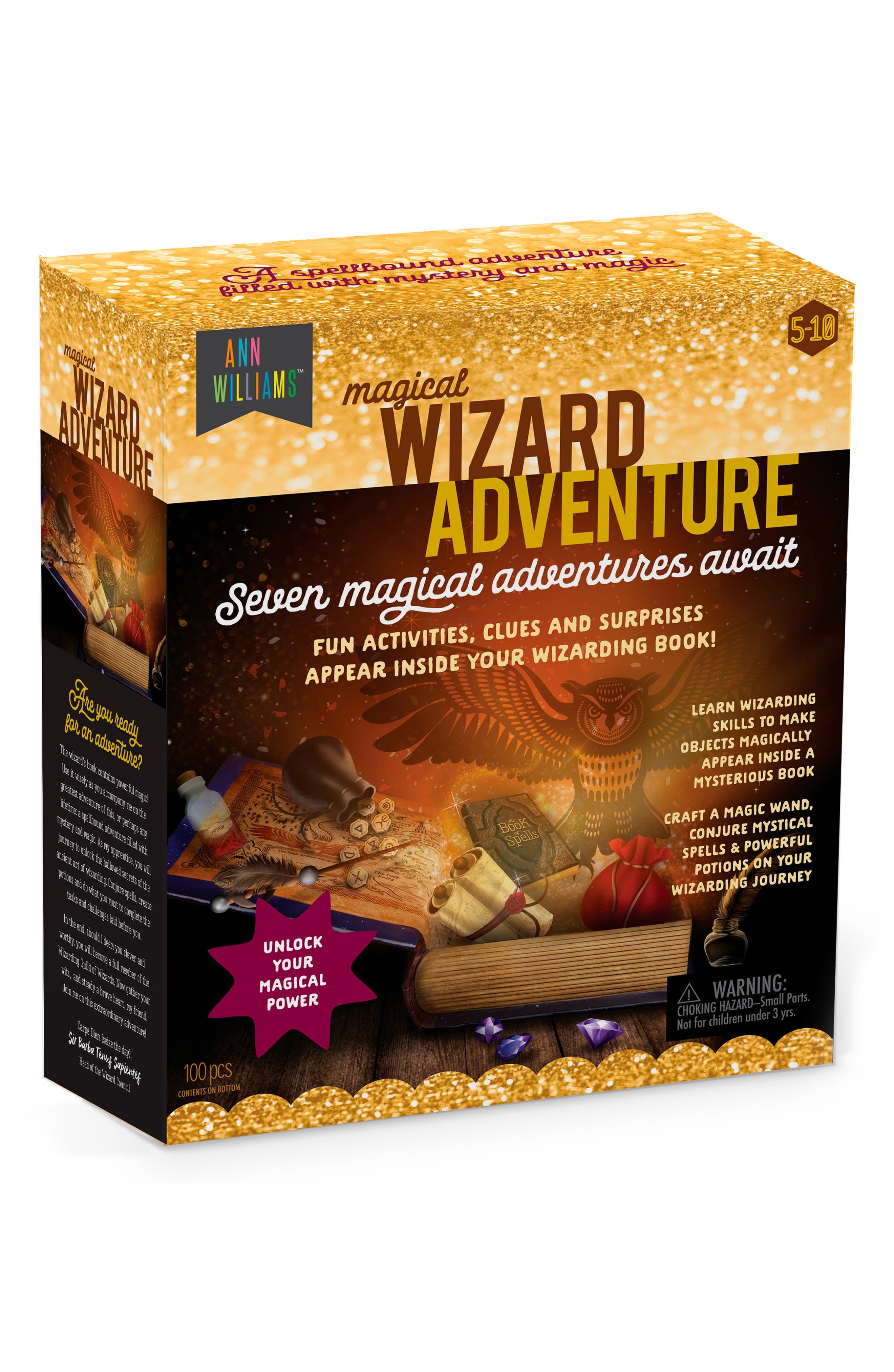 Magical Wizard Adventure Kit,                         Main,                         color, MULTI