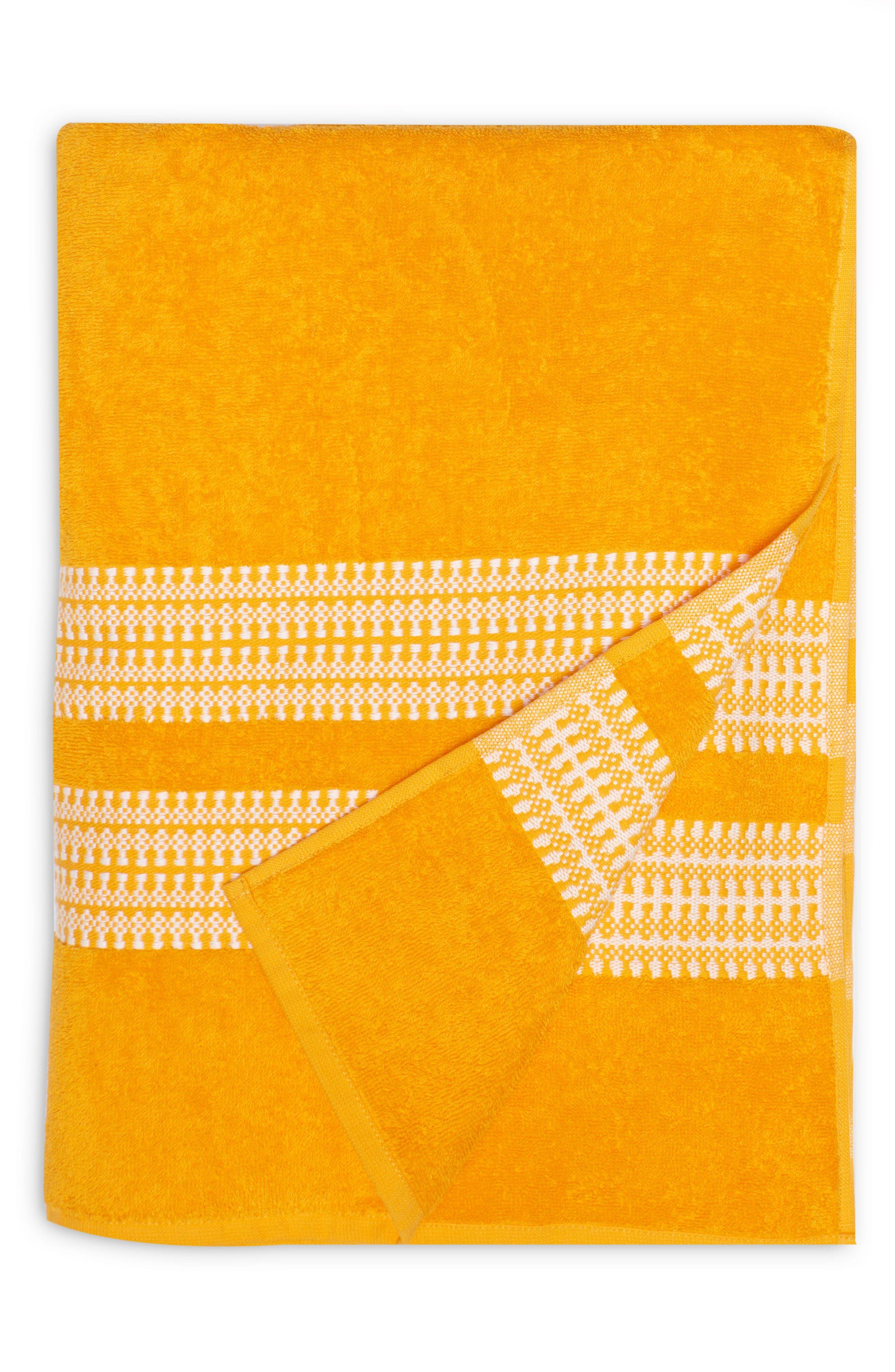 Bay Stripe Beach Towel,                             Main thumbnail 5, color,