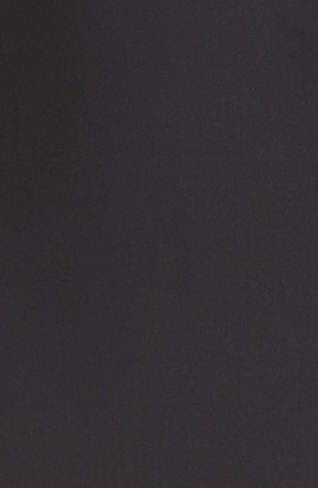 High Waist Shaper Thong,                             Alternate thumbnail 4, color,                             BLACK